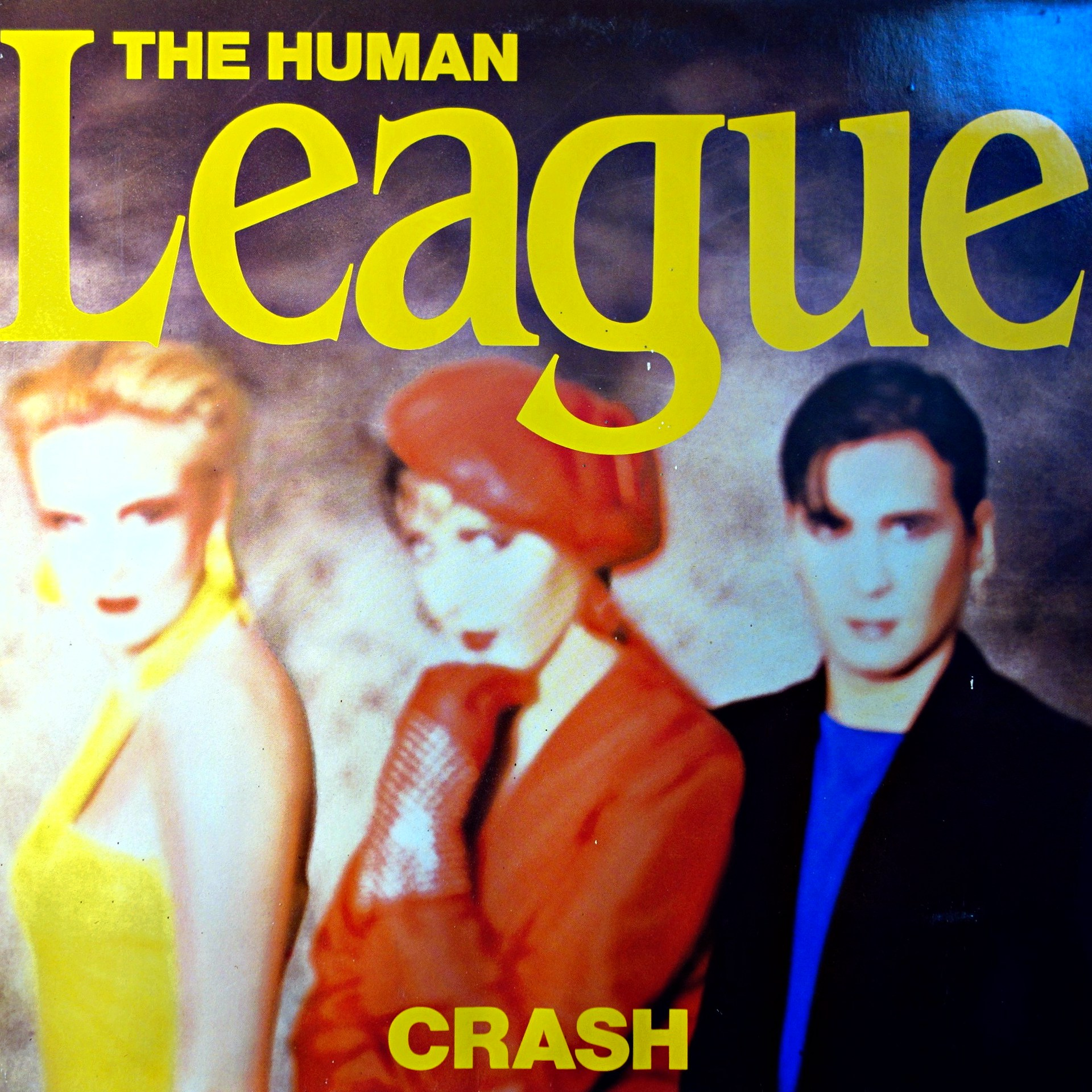 LP Human League ‎– Crash