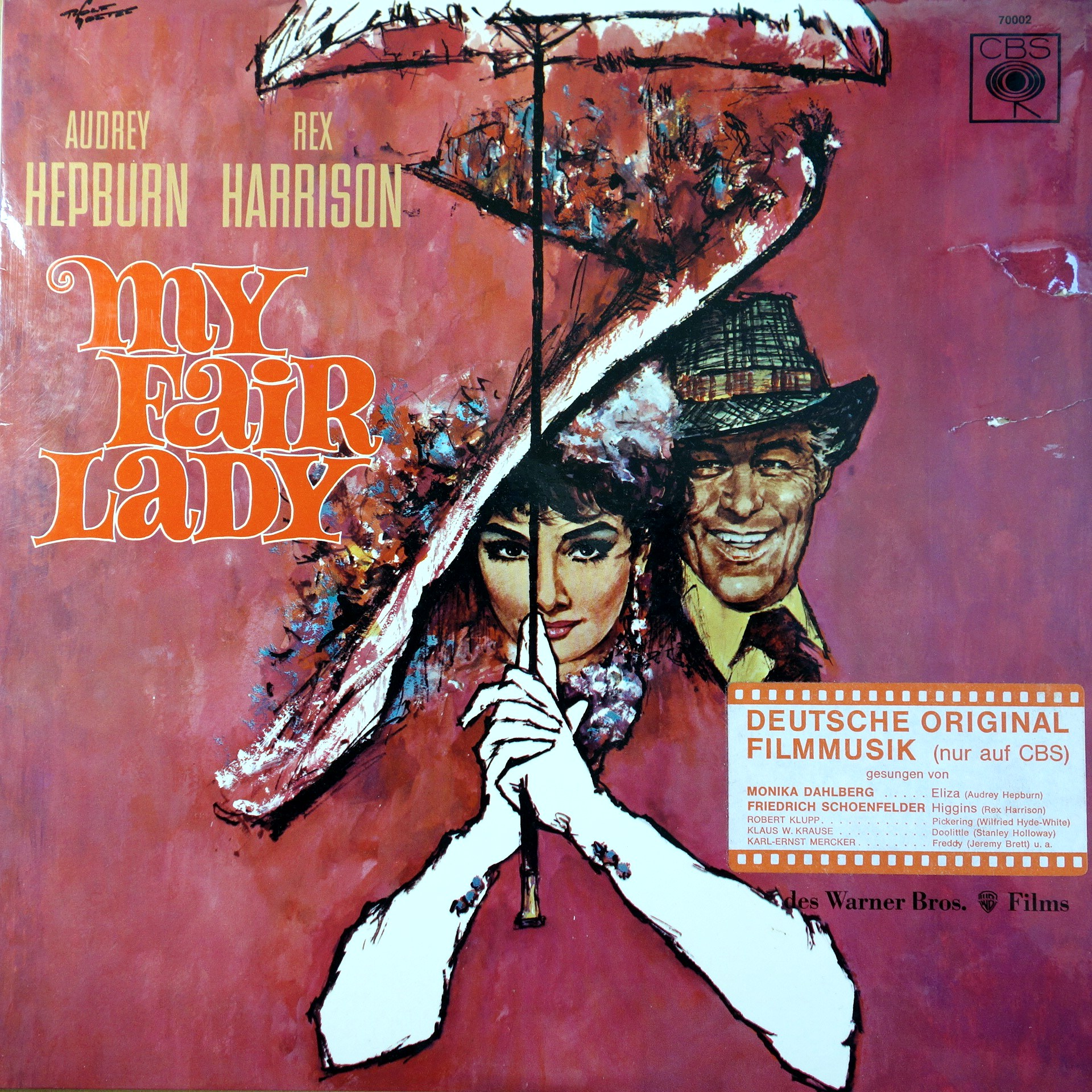 LP Various ‎– My Fair Lady - Deutsche Original Filmmusik