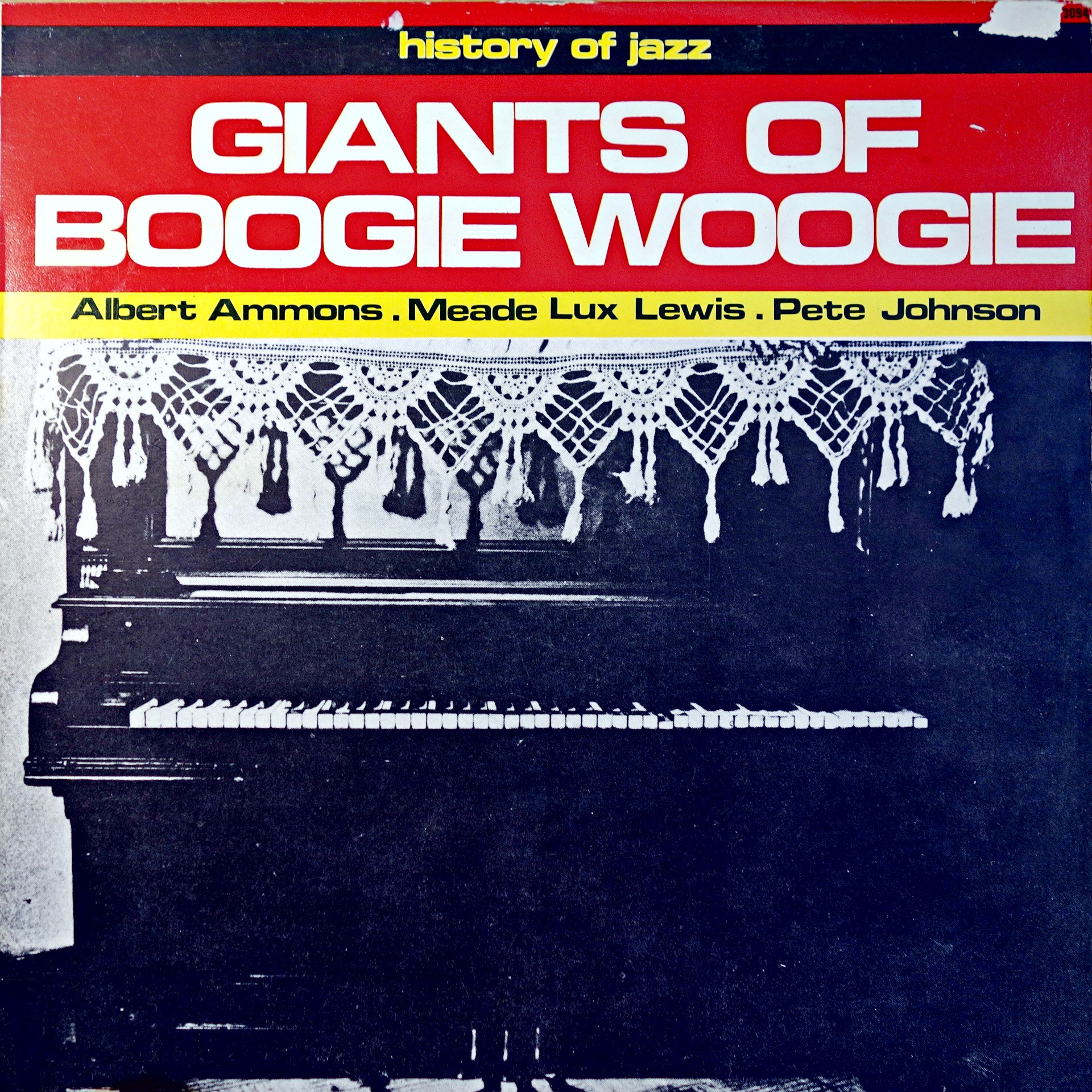LP Various ‎– Giants Of Boogie Woogie
