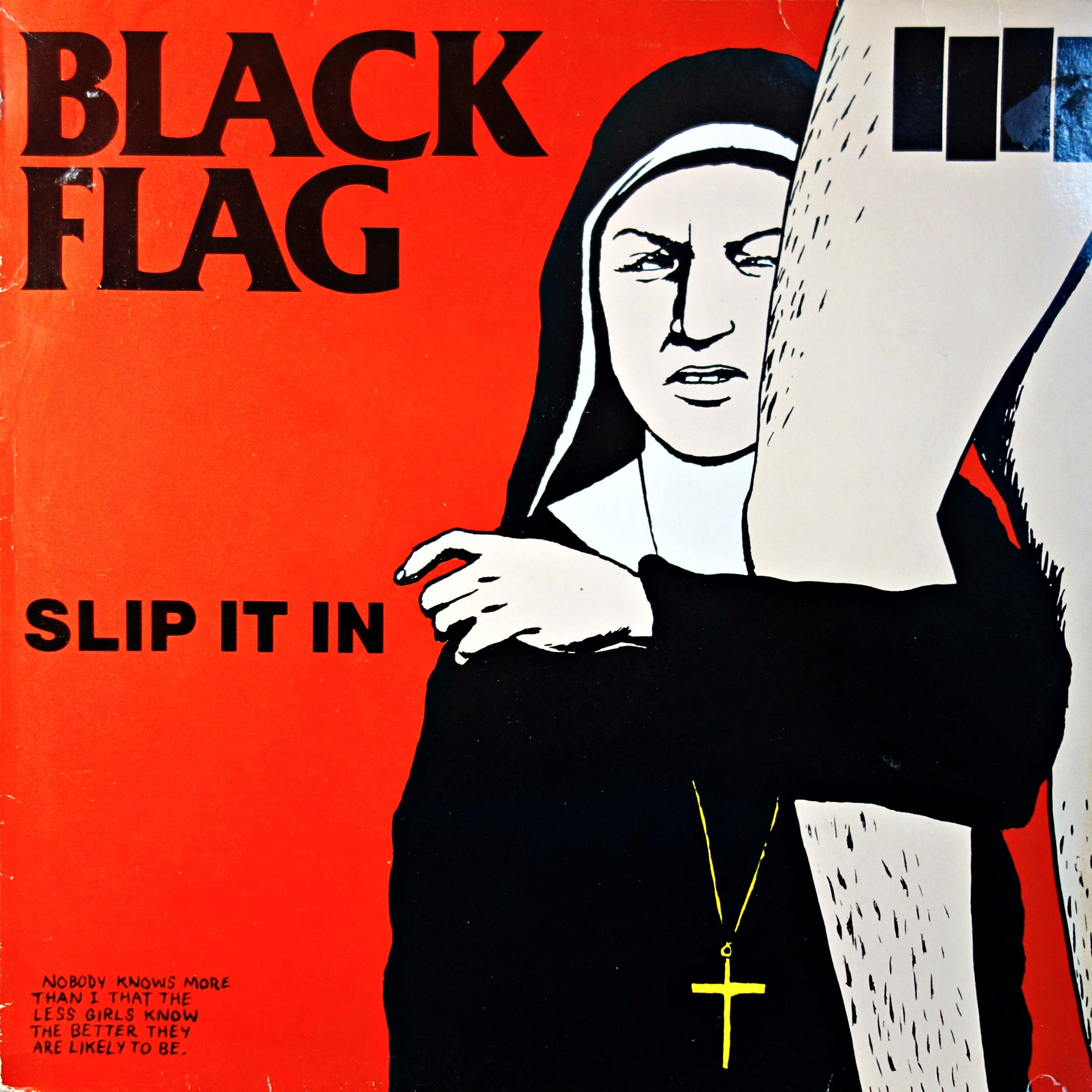 LP Black Flag ‎– Slip It In