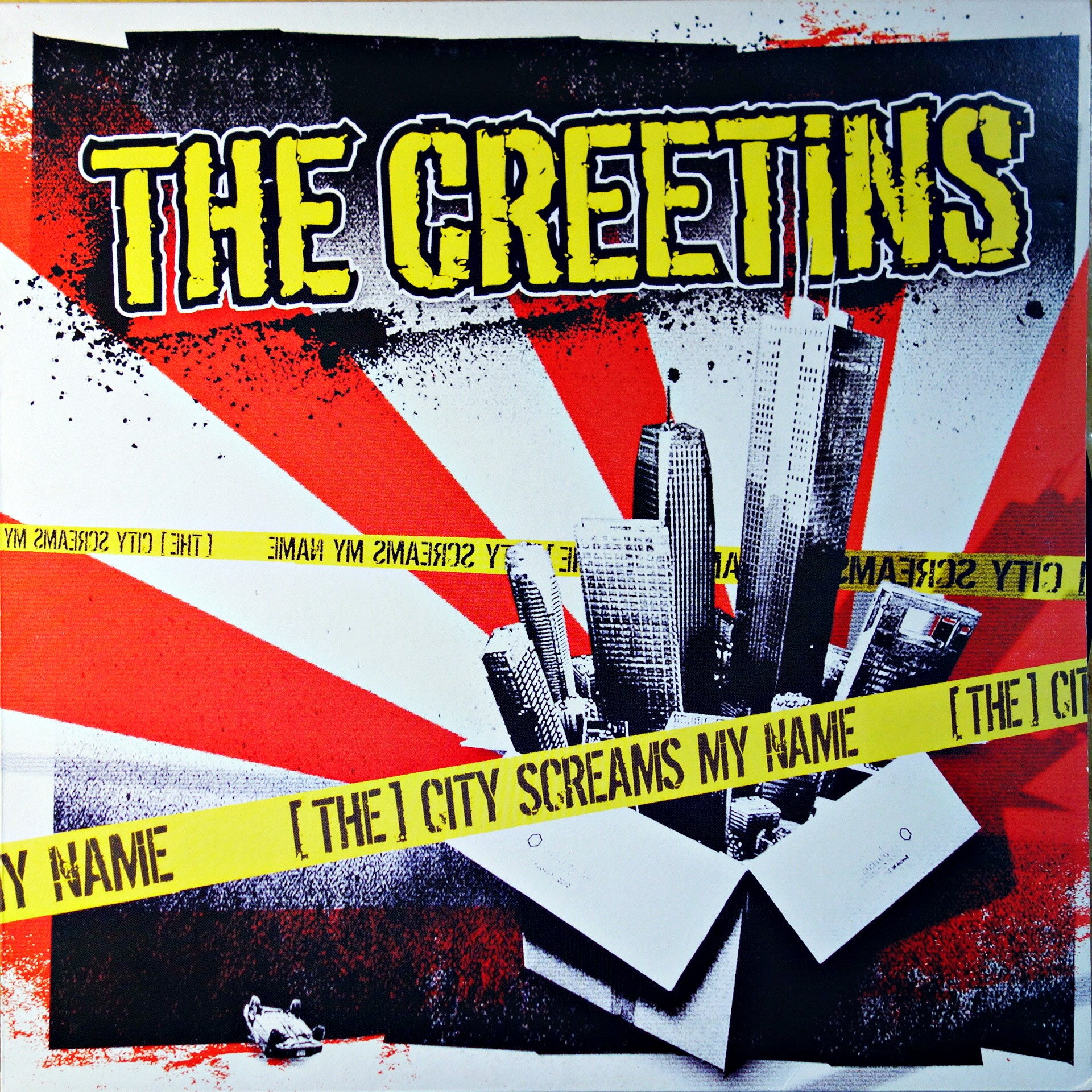 LP The Creetins ‎– [The] City Screams My Name