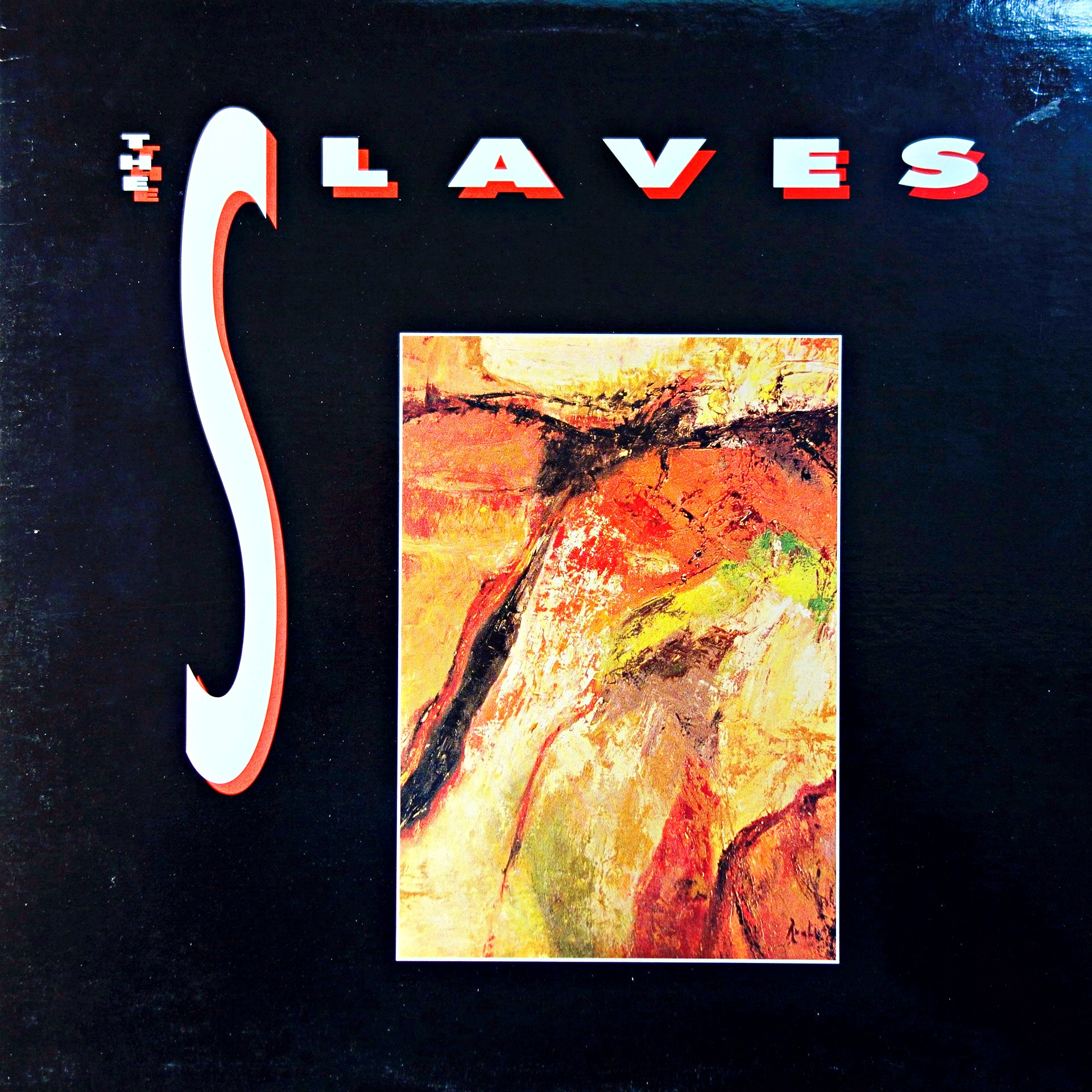 LP The Slaves ‎– The Slaves