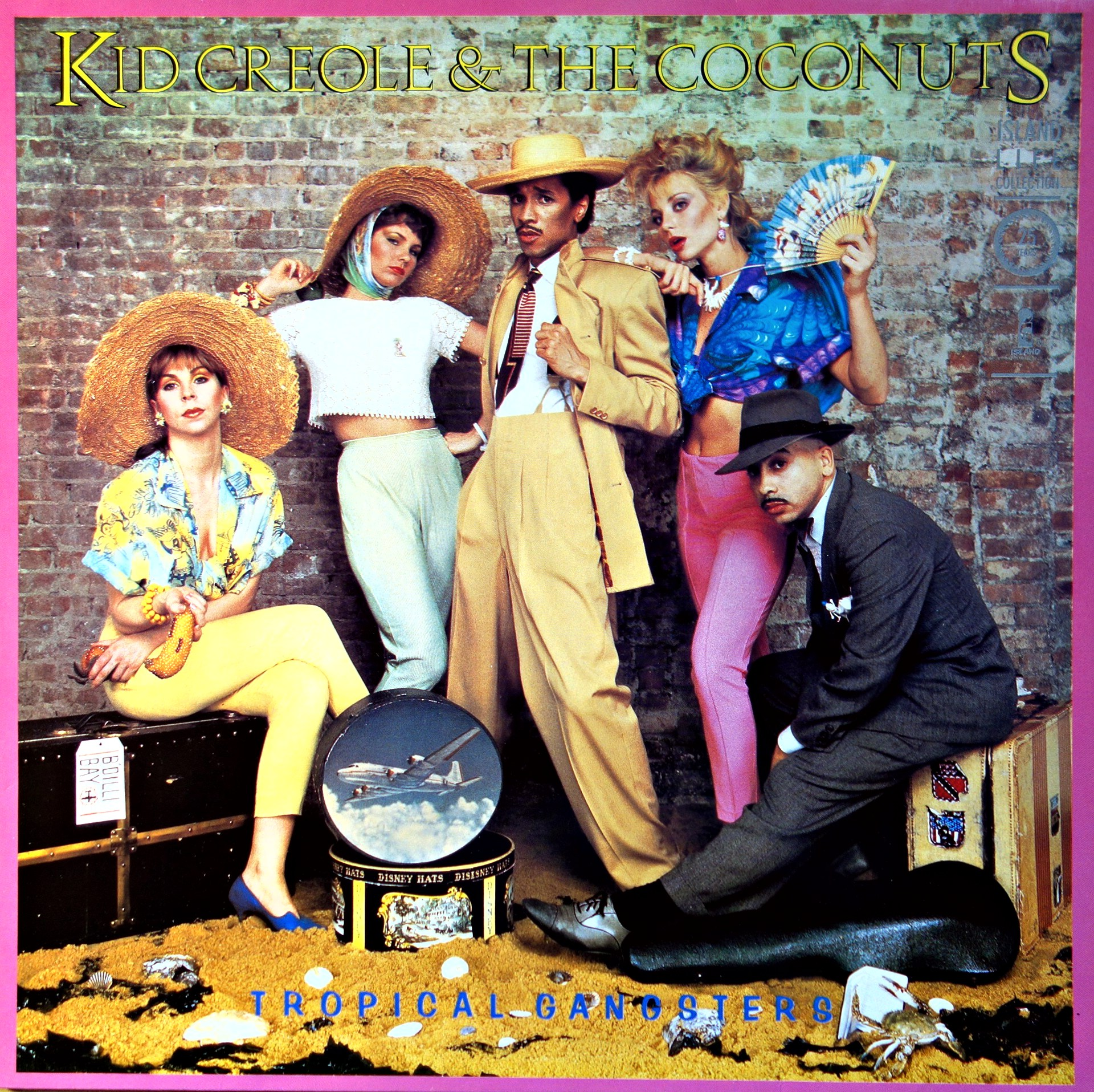 LP Kid Creole & The Coconuts ‎– Tropical Gangsters