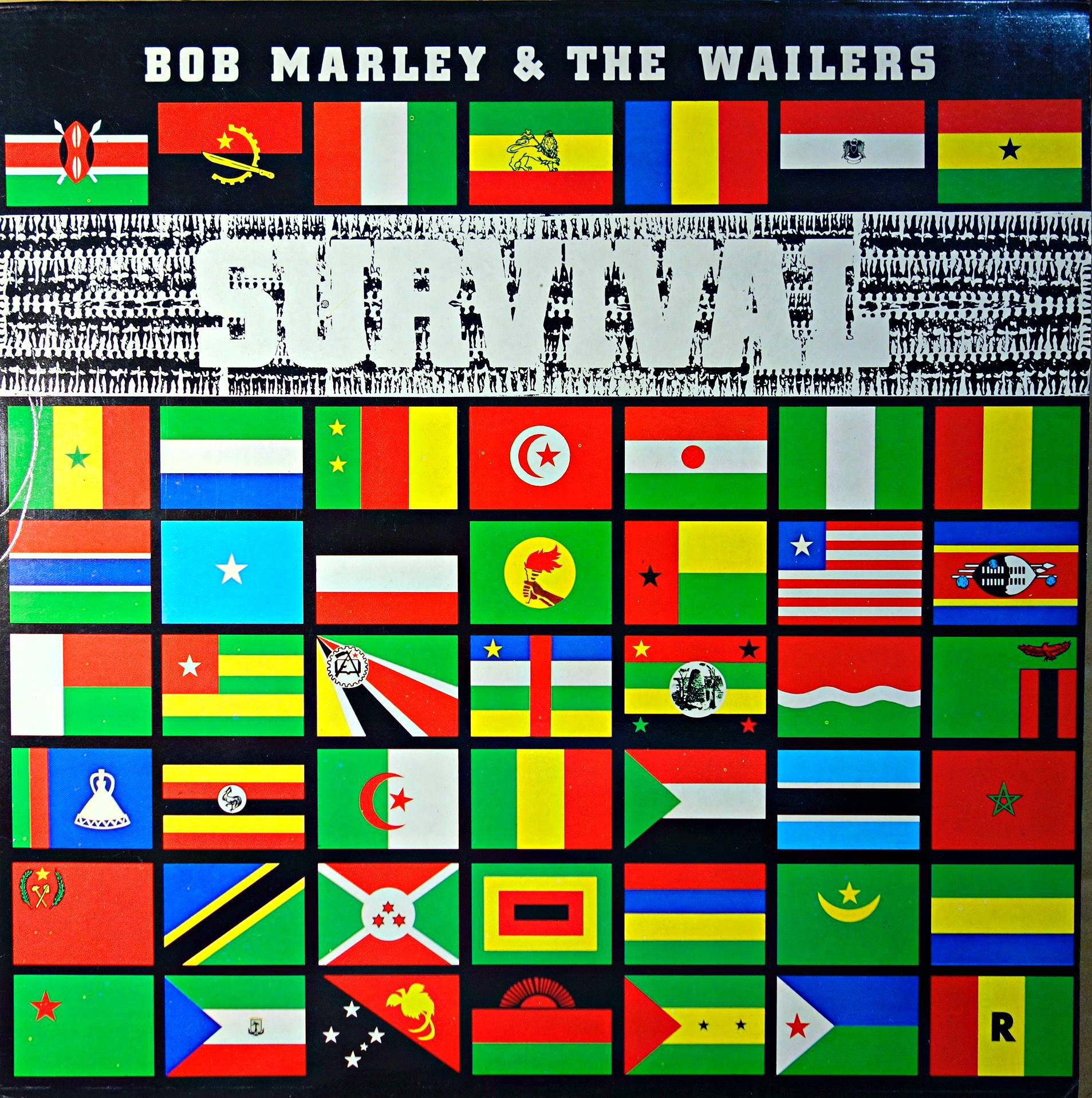 Reggae Dub Lp Bob Marley Amp The Wailers Survival