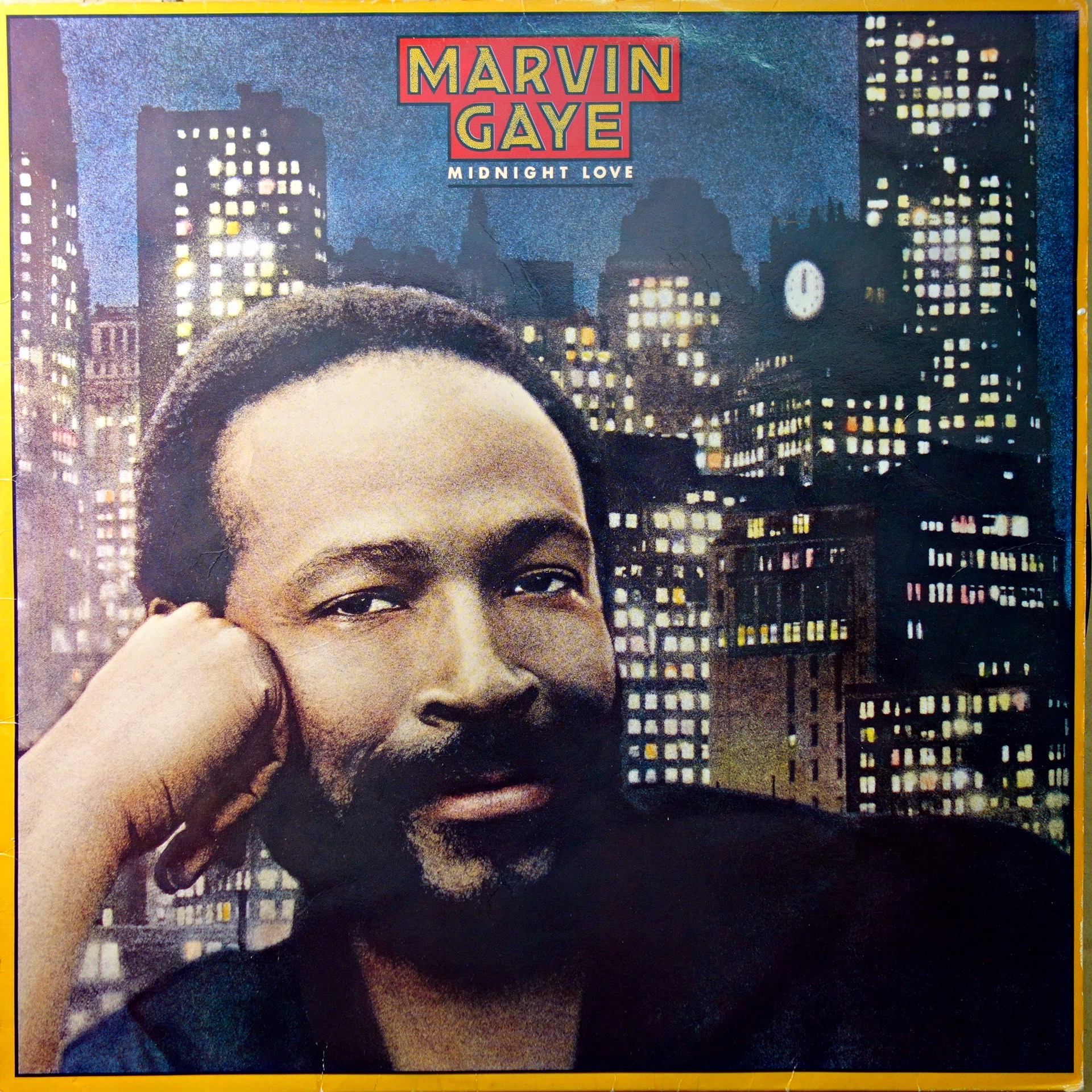 LP Marvin Gaye ‎– Midnight Love