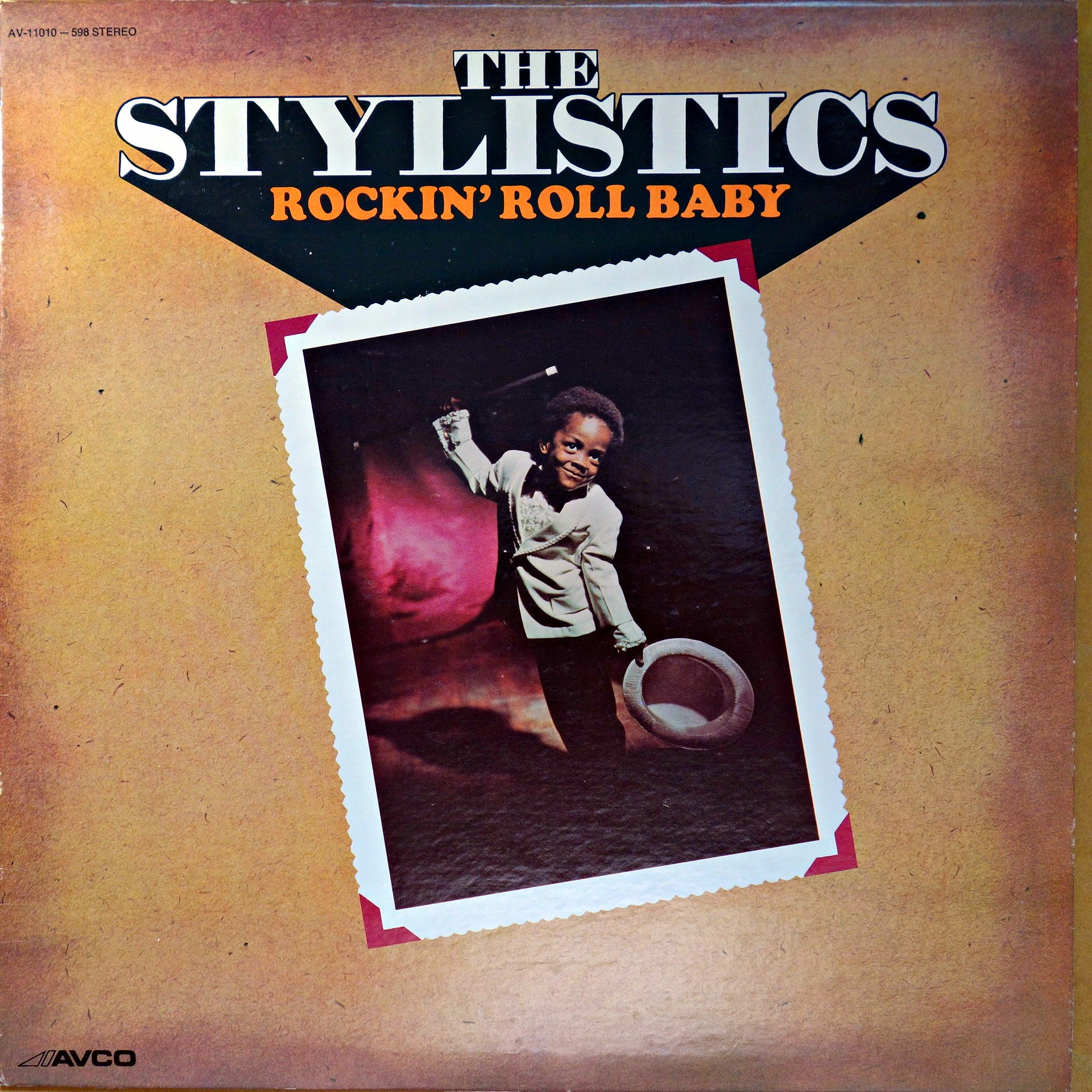 LP The Stylistics ‎– Rockin' Roll Baby