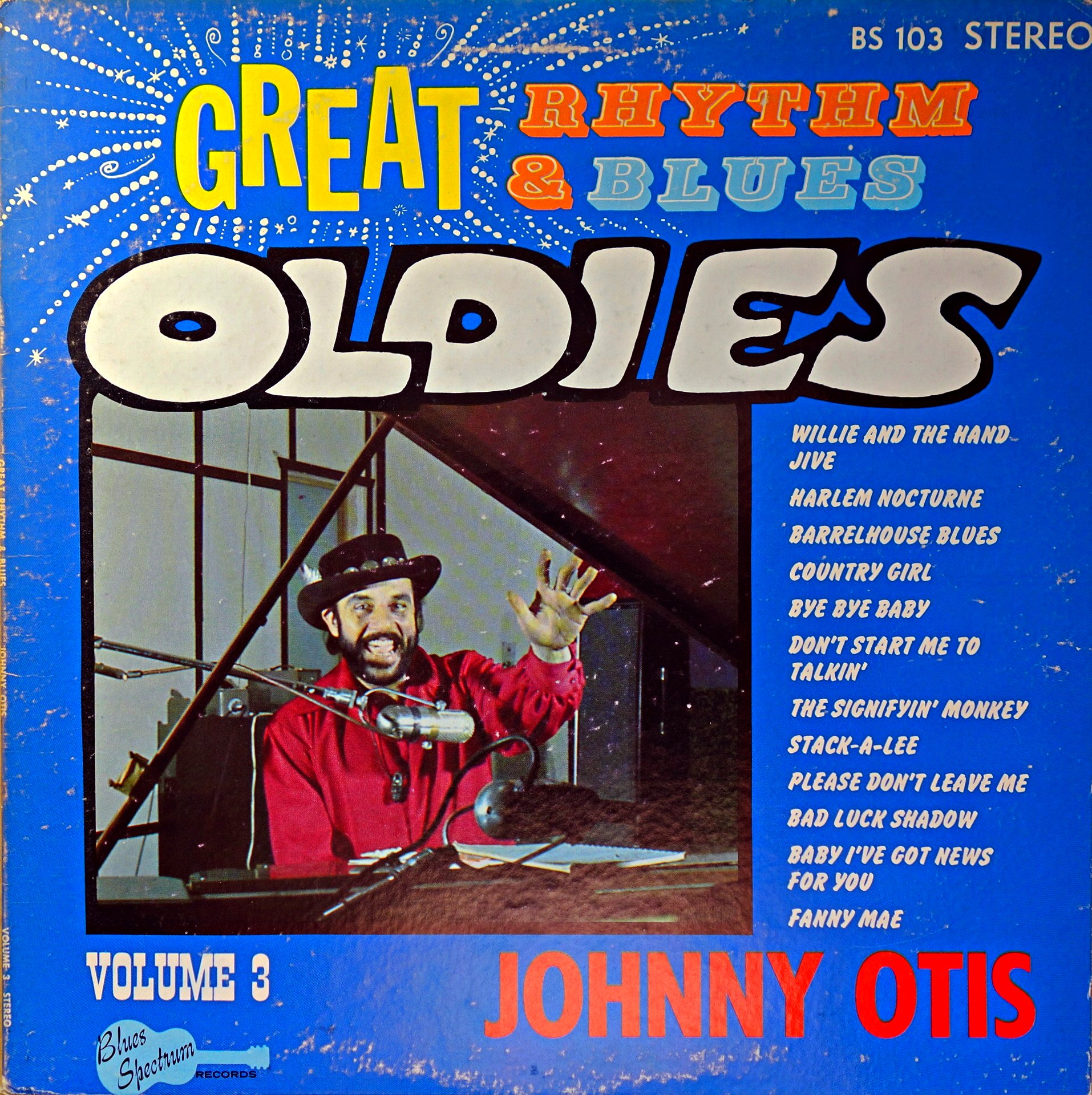 LP Johnny Otis ‎– Great Rhythm & Blues Oldies Volume 3