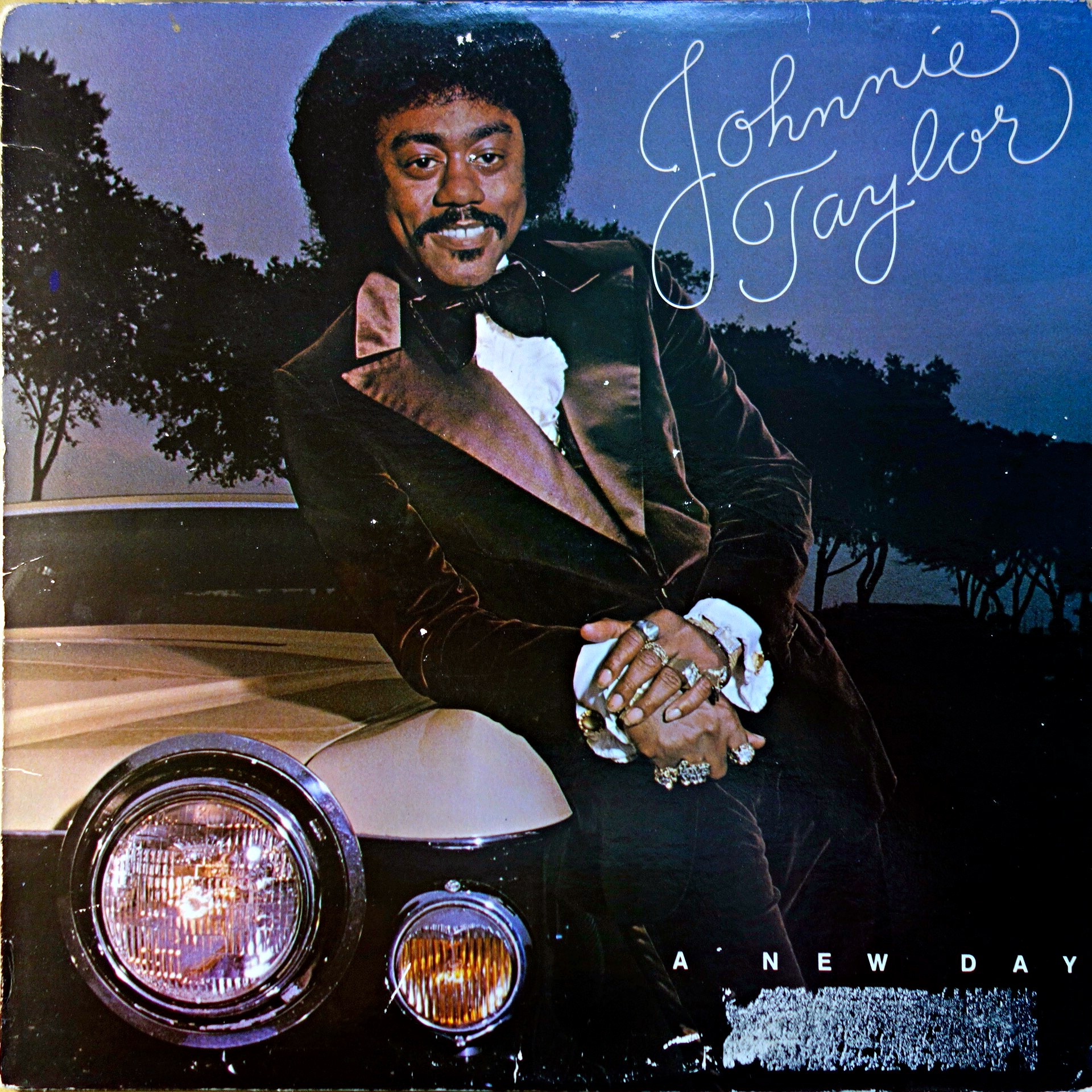 LP Johnnie Taylor ‎– A New Day