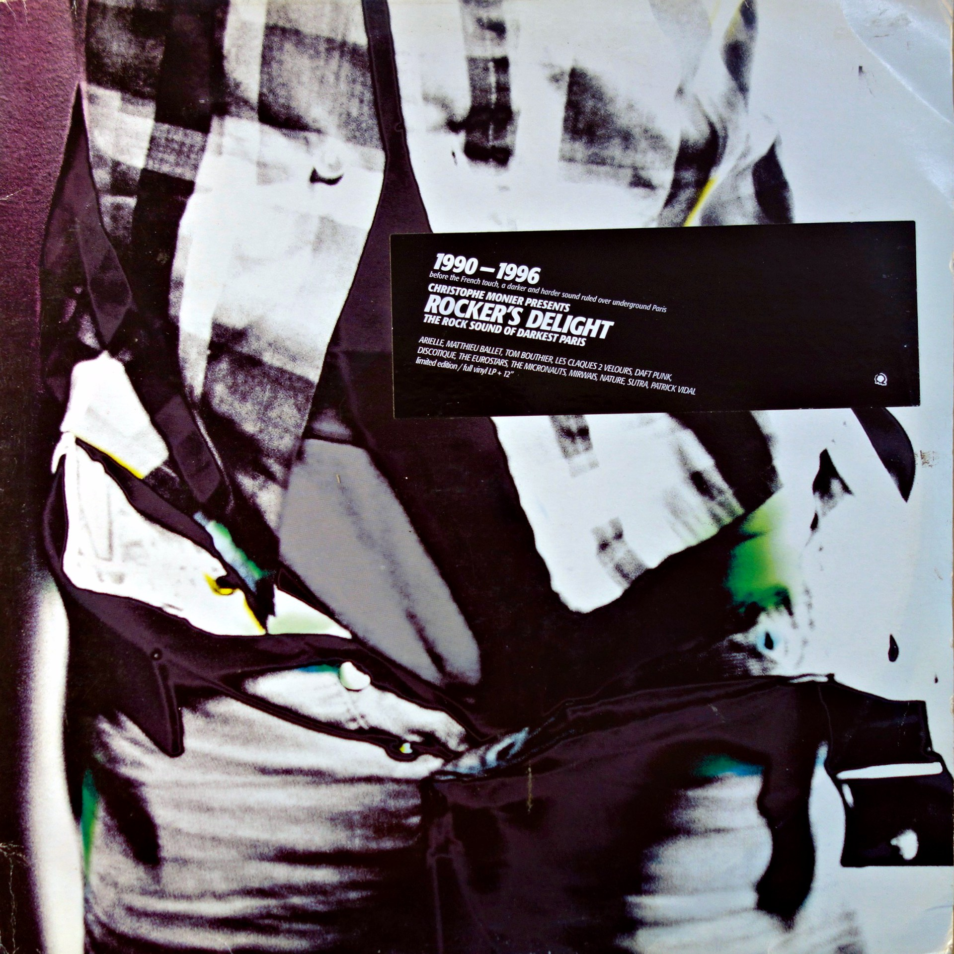 "2x12"" Christophe Monier - Rocker's Delight ""The Rock Sound Of Darkest Paris"""