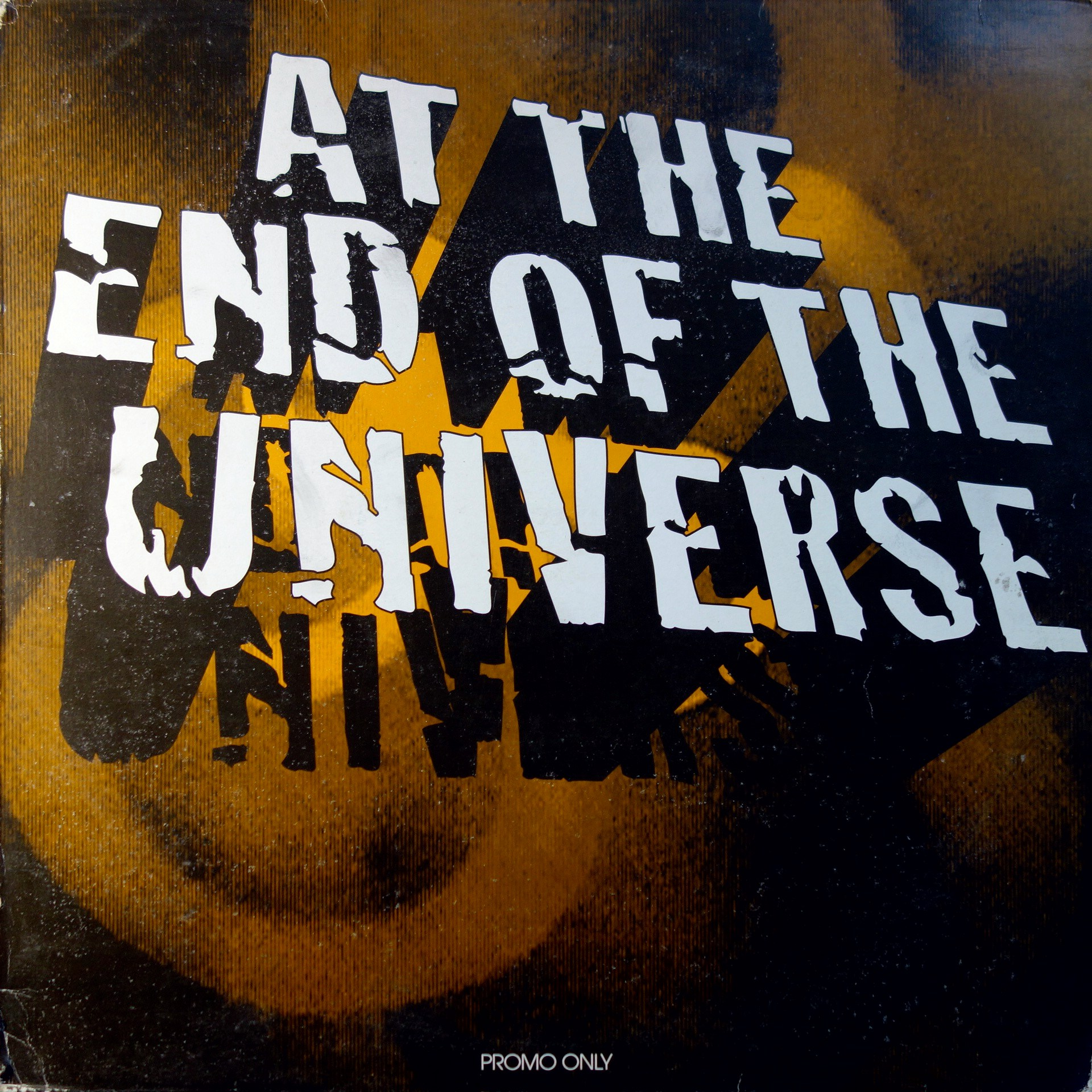 "12"" Various ‎– At The End Of The Universe (Promo)"
