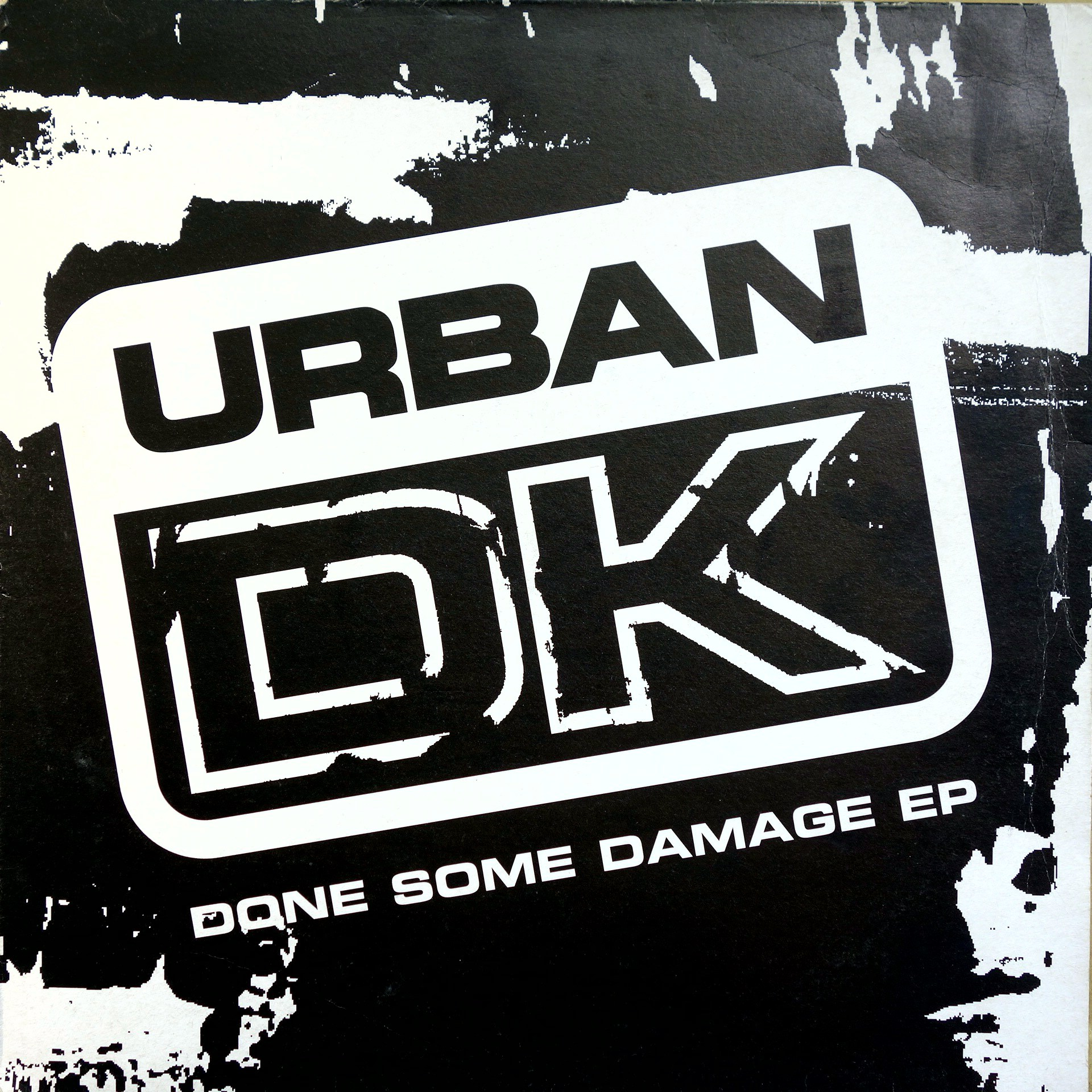 "12"" Urban D.K. ‎– Done Some Damage EP"