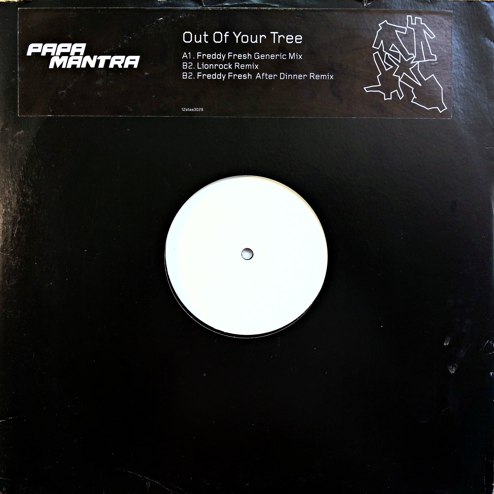 "12"" Papa Mantra ‎– Out Of Your Tree"