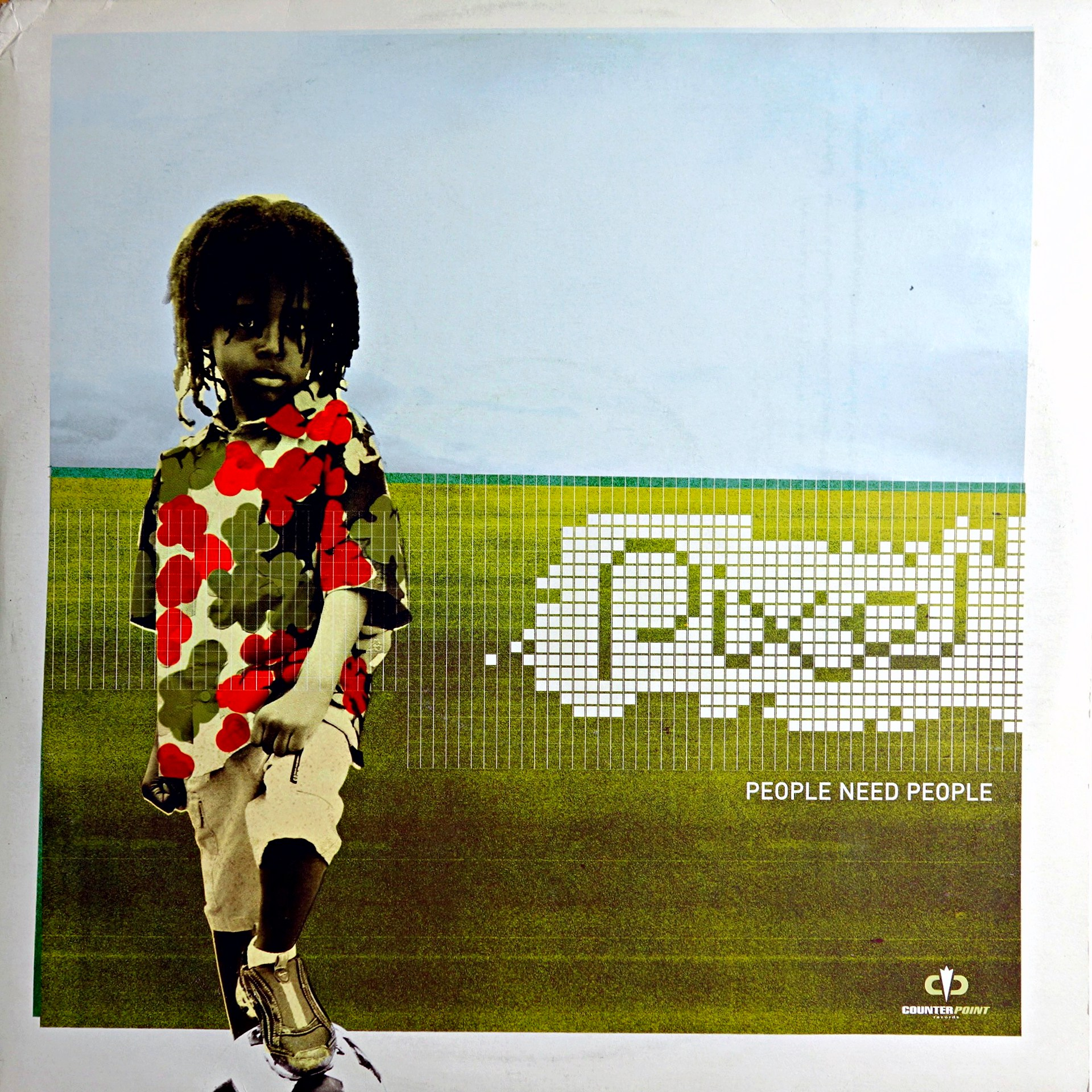 "2x12"" Pixel ‎– People Need People"