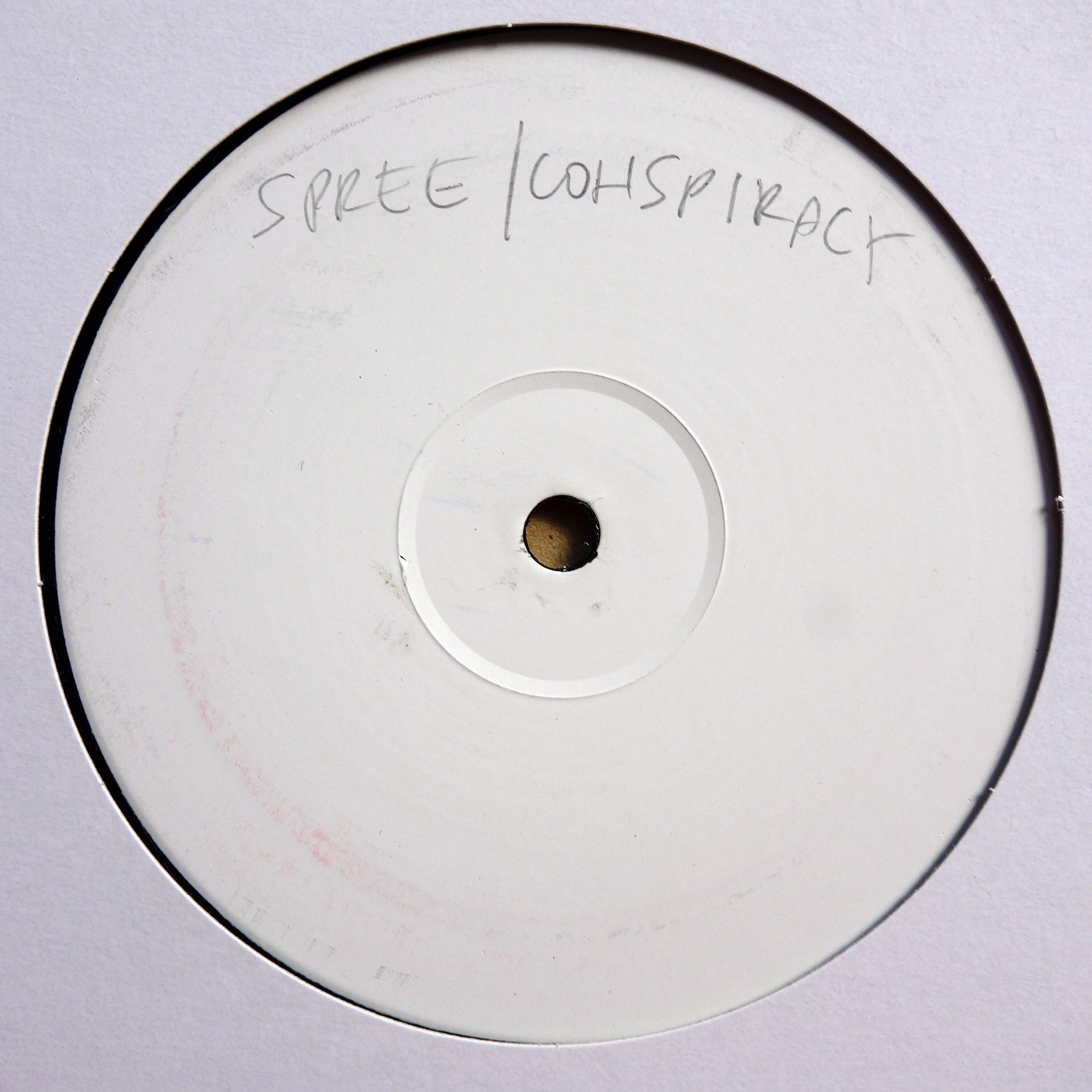 "12"" Spree / Conspiracy ‎– Move (State Of Play Remix) / Hear The Sound / Move"