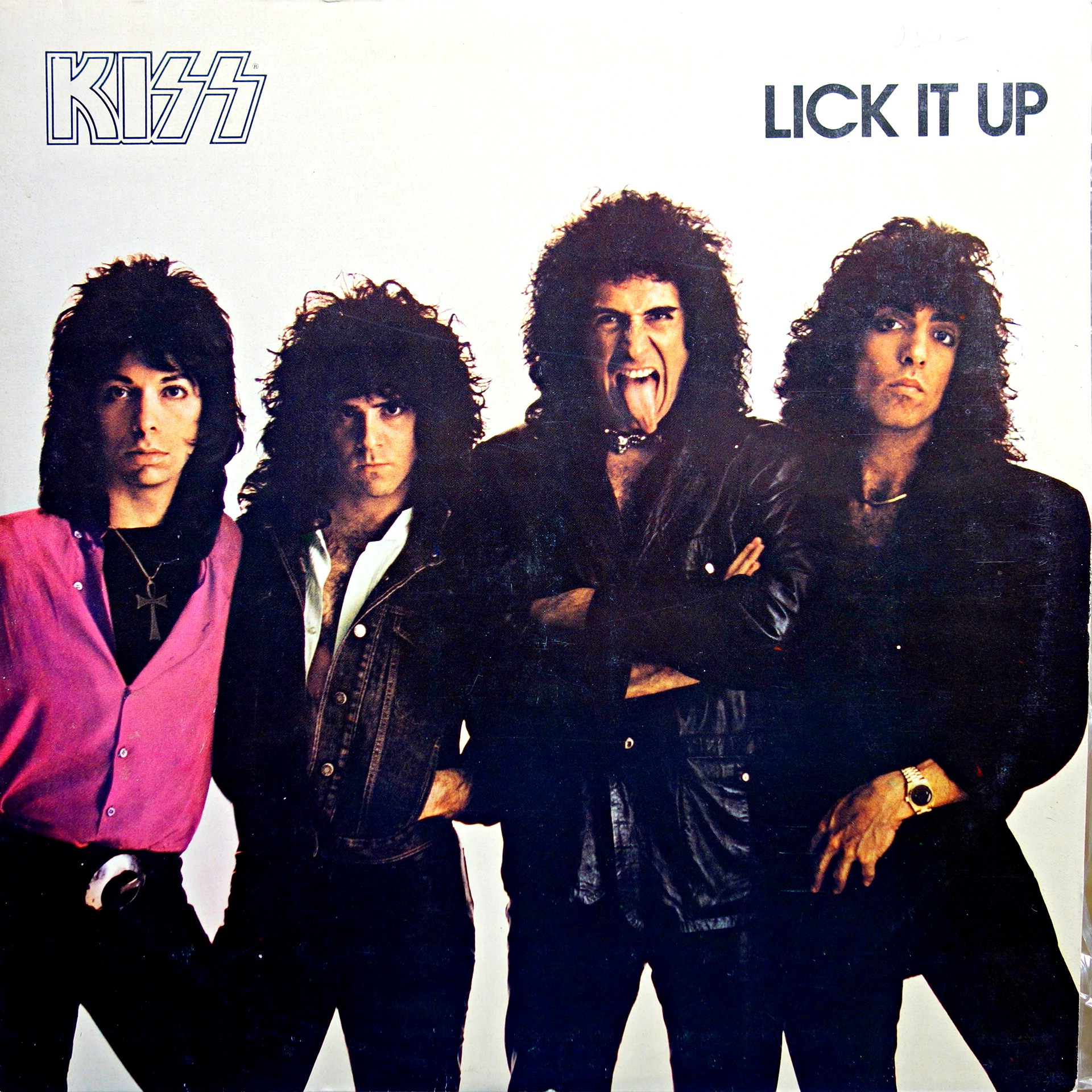 LP Kiss ‎– Lick It Up