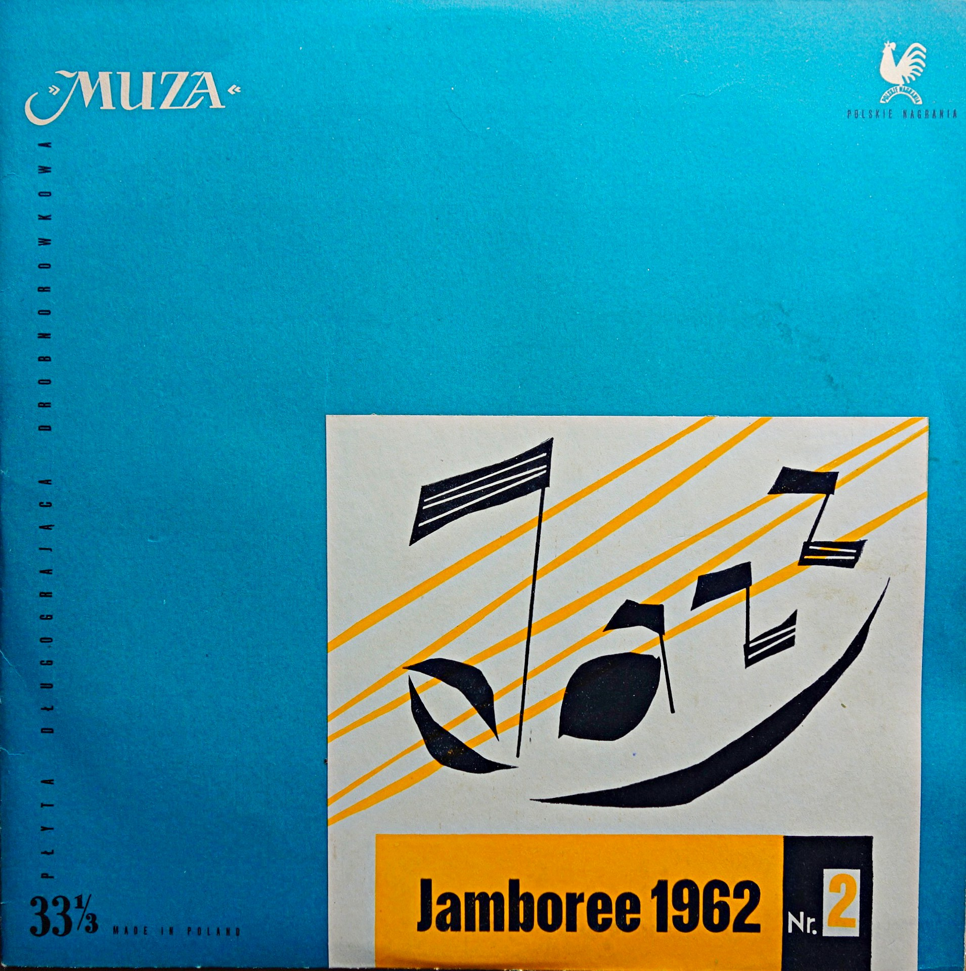 "10"" Eje Thelin Quintet ‎– Jazz Jamboree 62 Vol. 2"