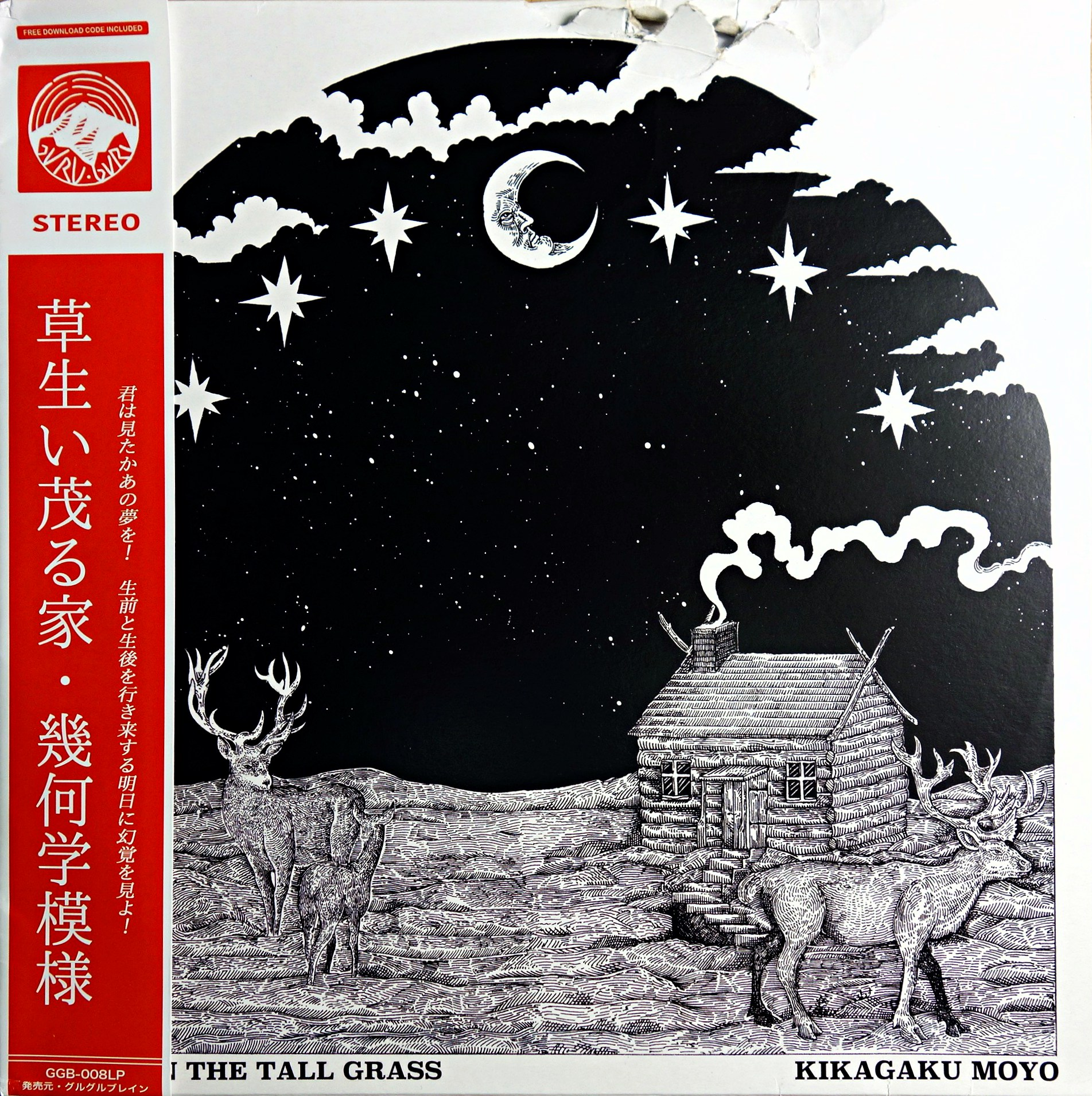 LP Kikagaku Moyo ‎– House In The Tall Grass