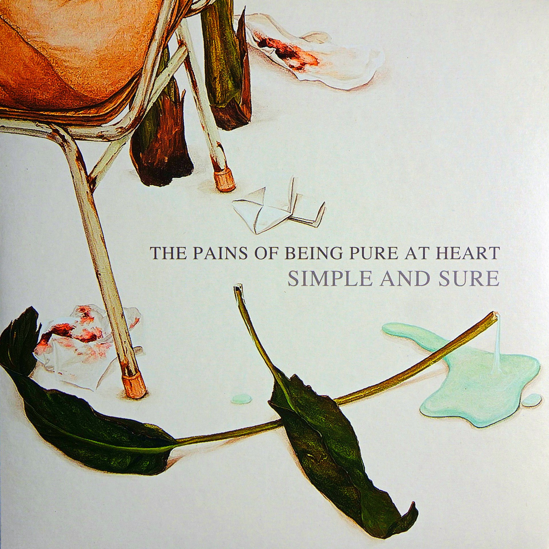 "7"" The Pains Of Being Pure At Heart ‎– Simple And Sure"