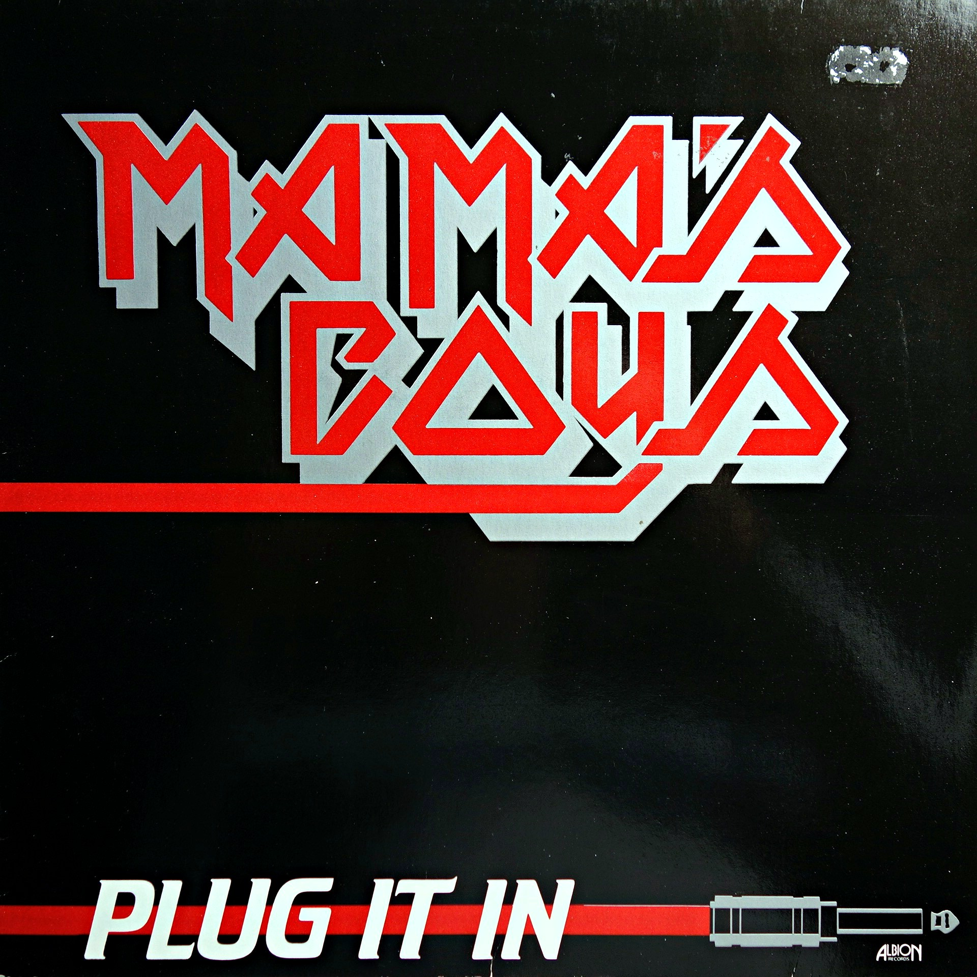 LP Mama's Boys ‎– Plug It In