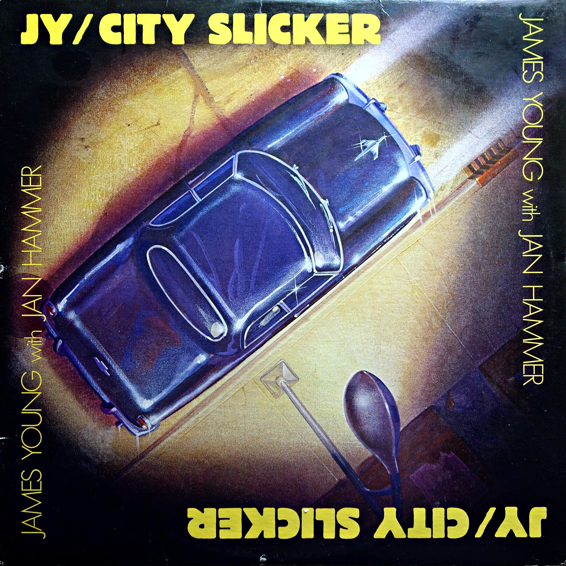 LP James Young With Jan Hammer ‎– City Slicker