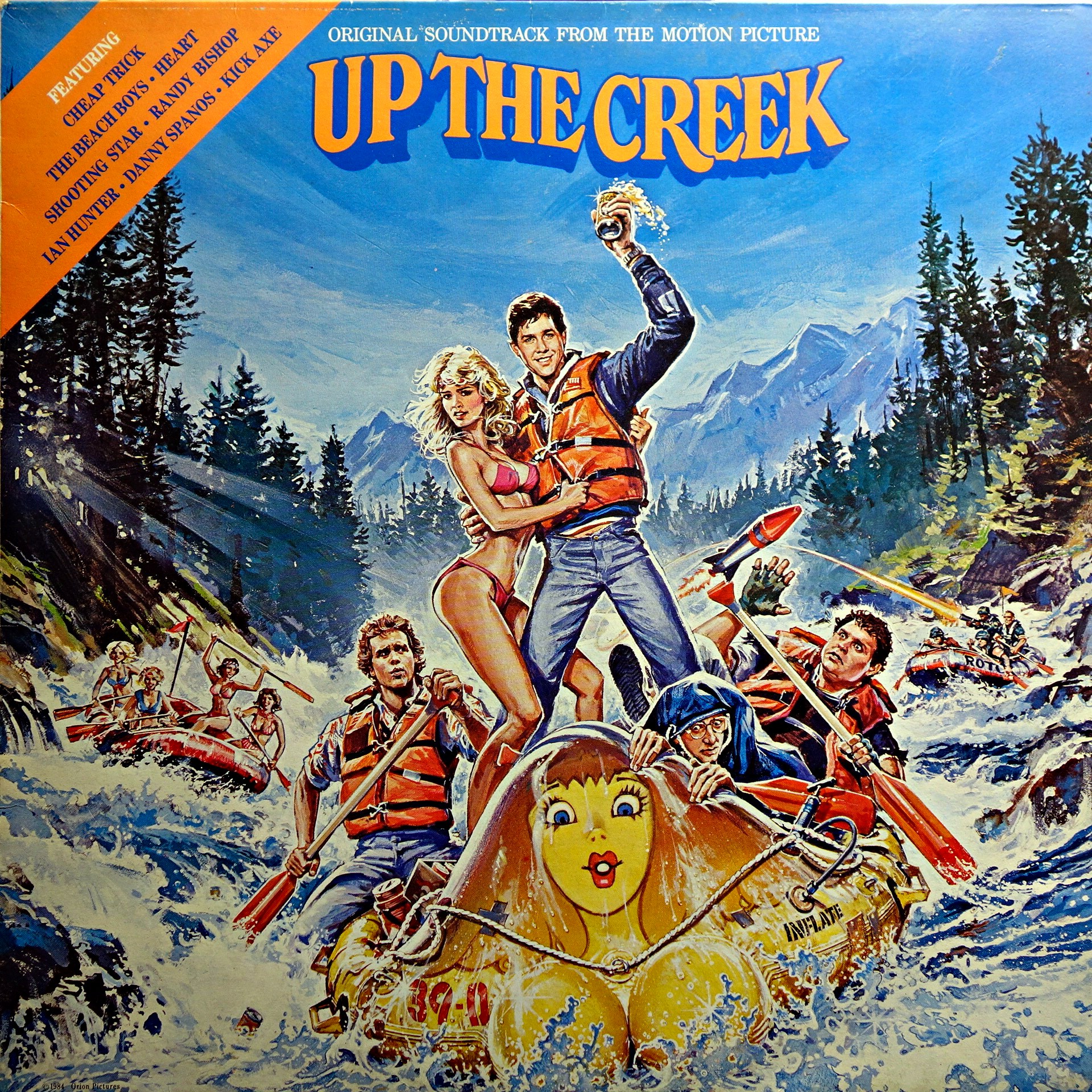 LP Various ‎– Up The Creek - Original Soundtrack From The Motion Picture