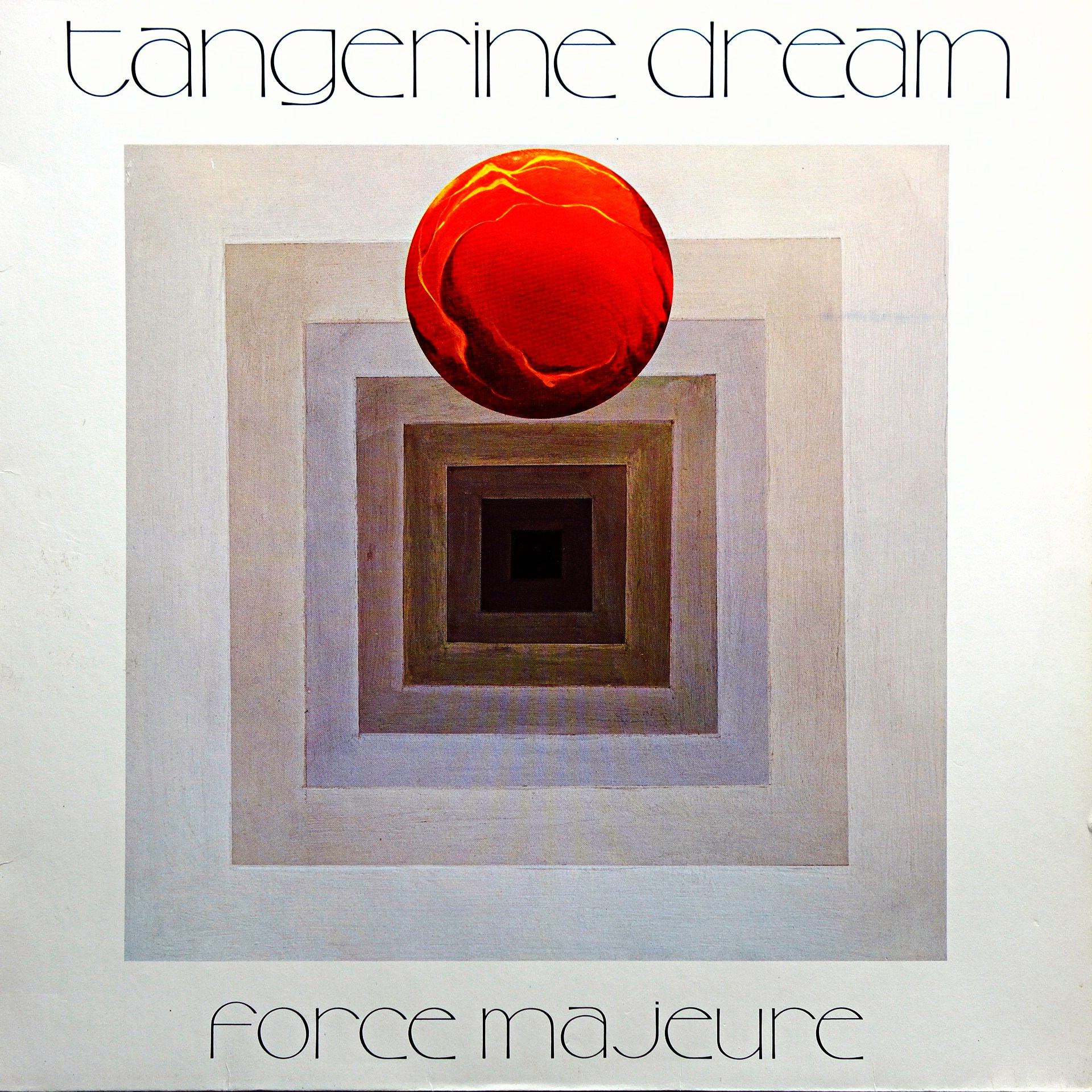 LP Tangerine Dream ‎– Force Majeure