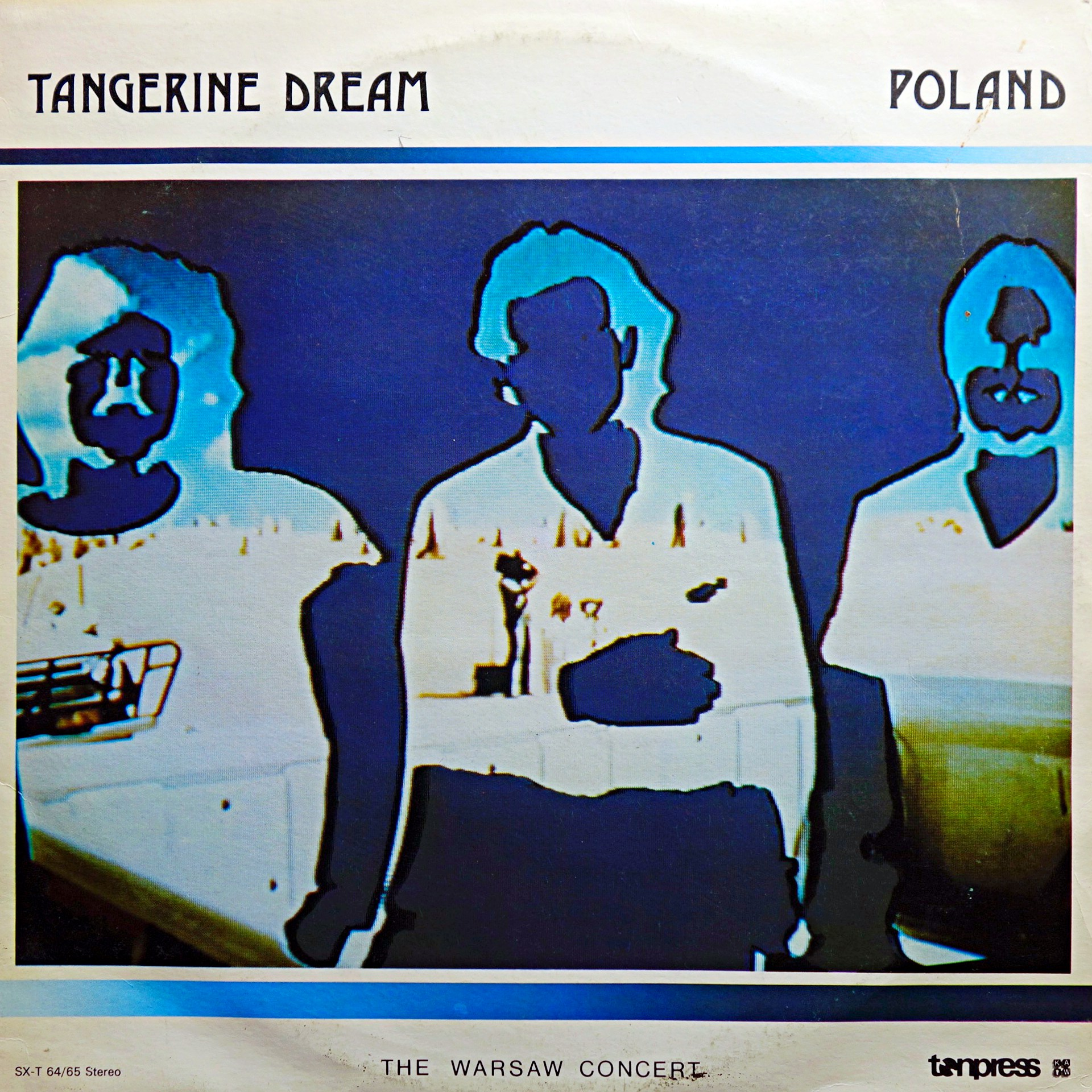 2xLP Tangerine Dream ‎– Poland (The Warsaw Concert)