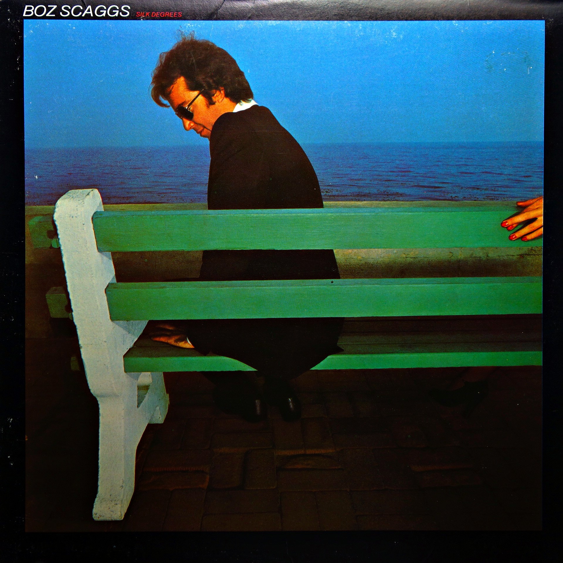 LP Boz Scaggs ‎– Silk Degrees