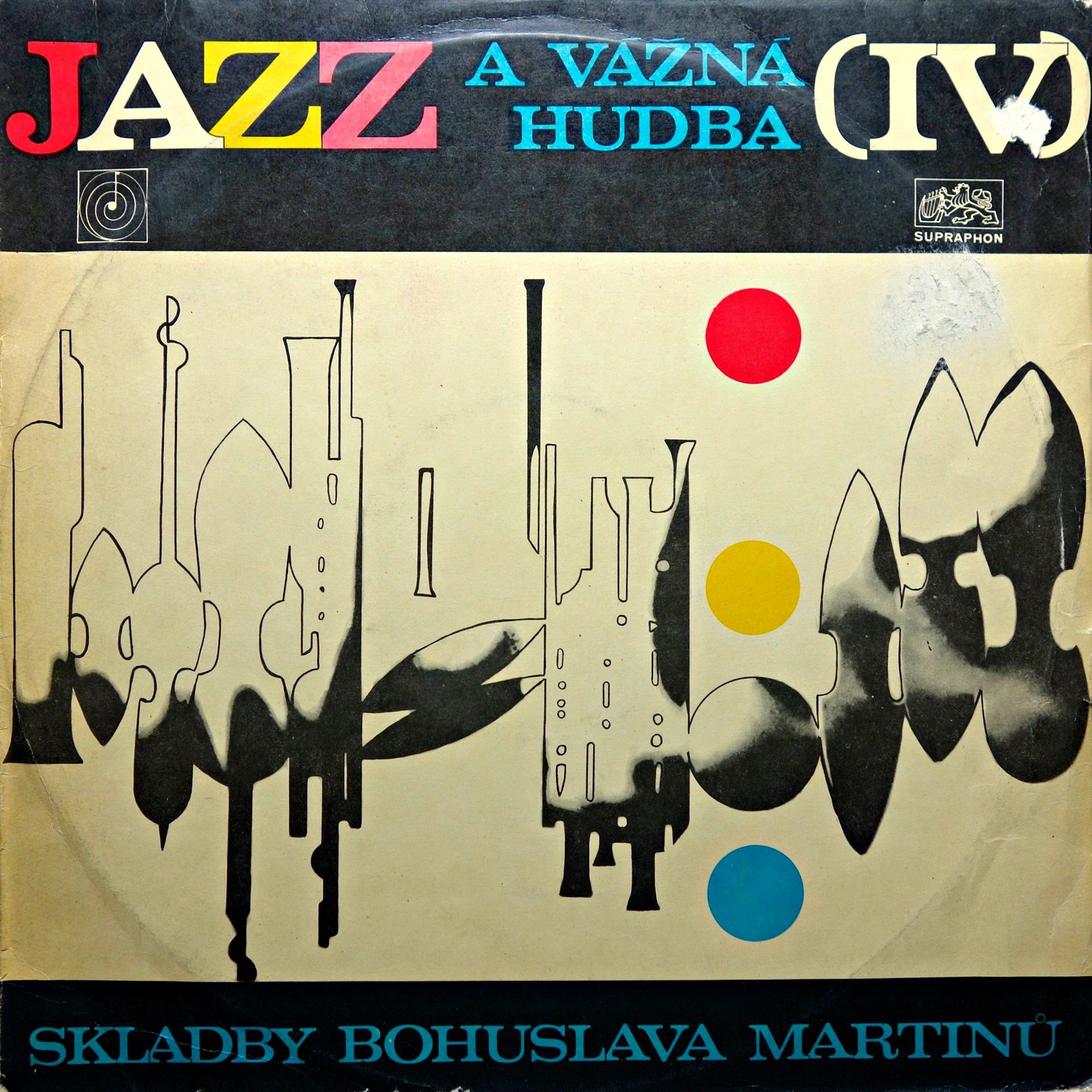 LP Bohuslav Martinů - Jazz Inspired Compositions