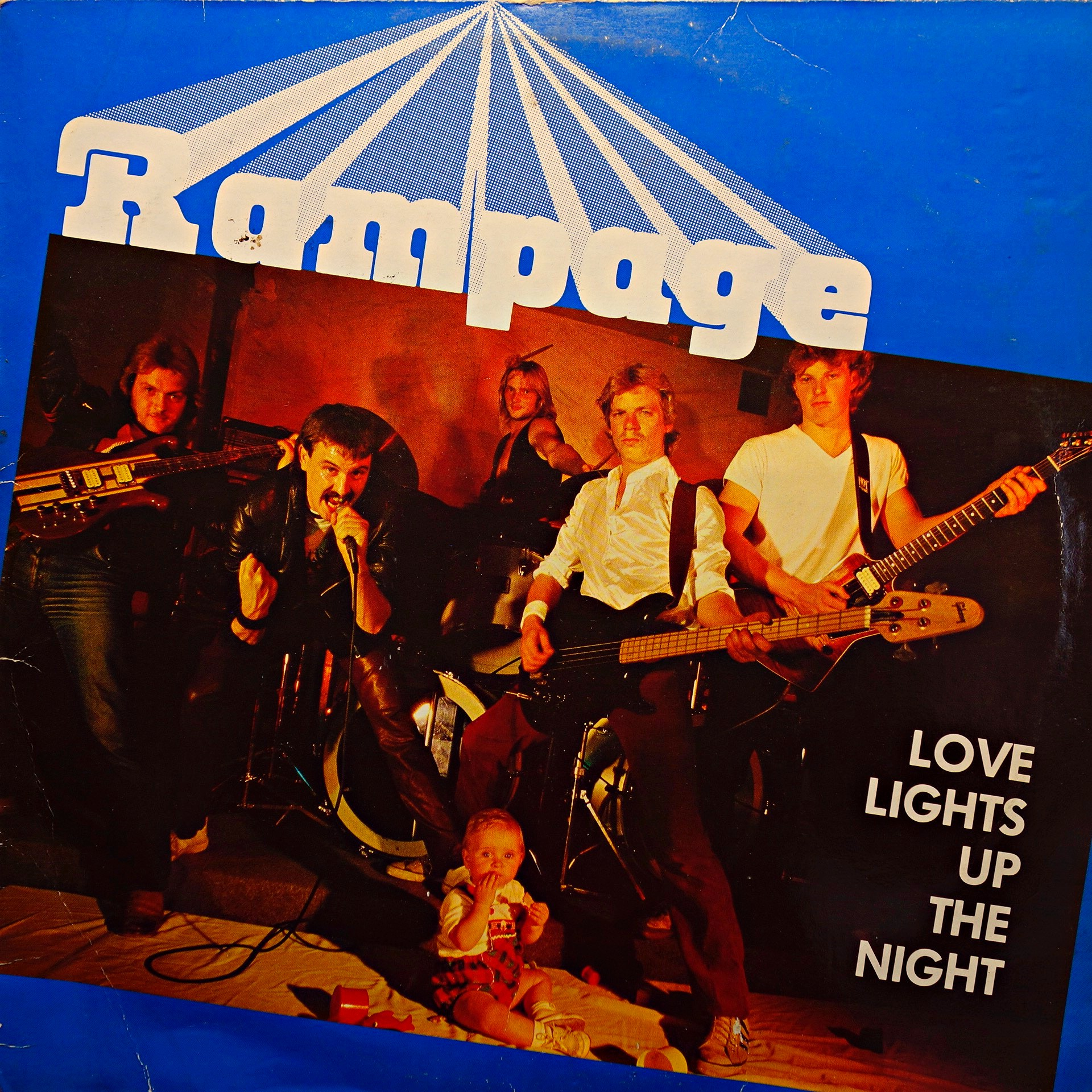 LP Rampage ‎– Love Lights Up The Night