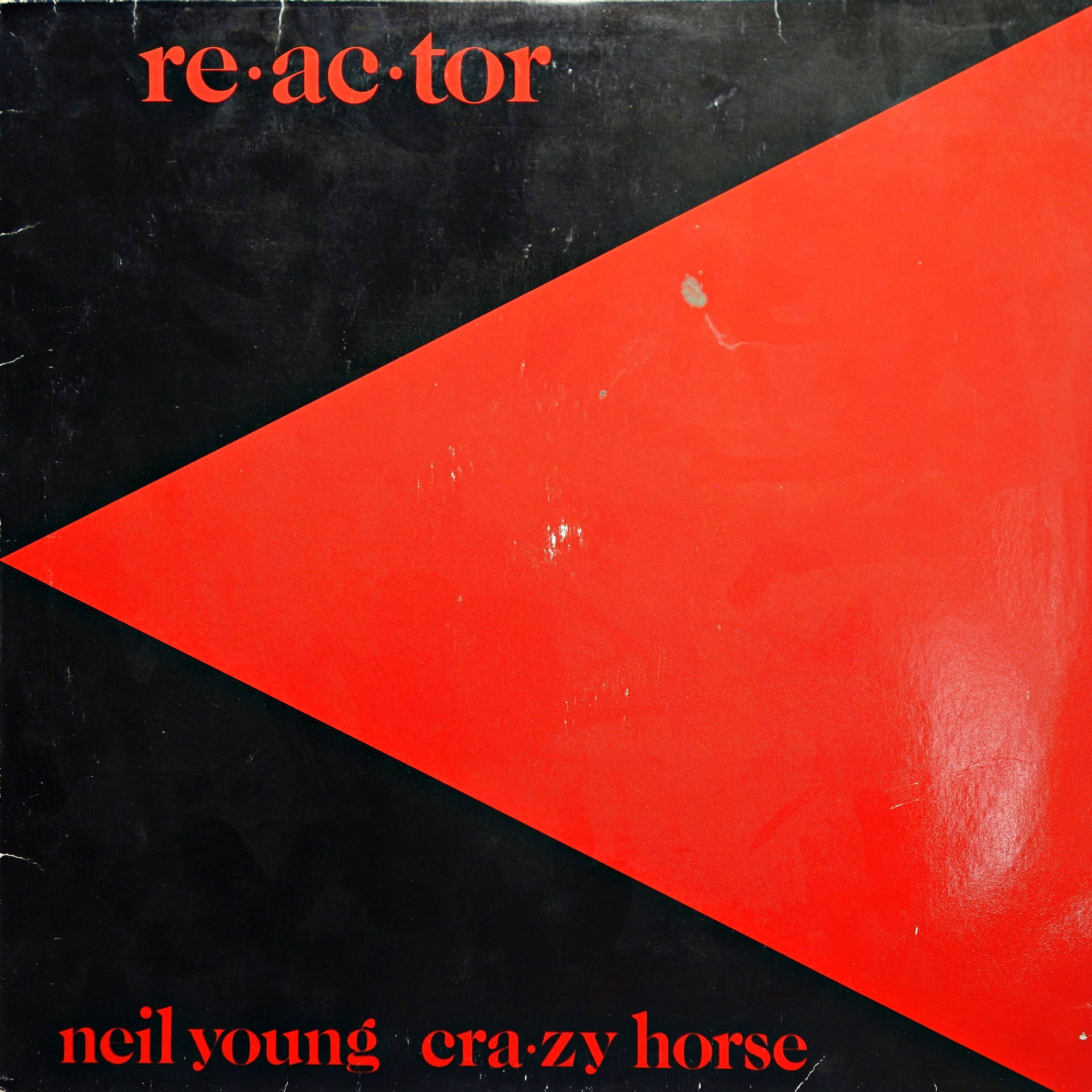 LP Neil Young & Crazy Horse ‎– Reactor