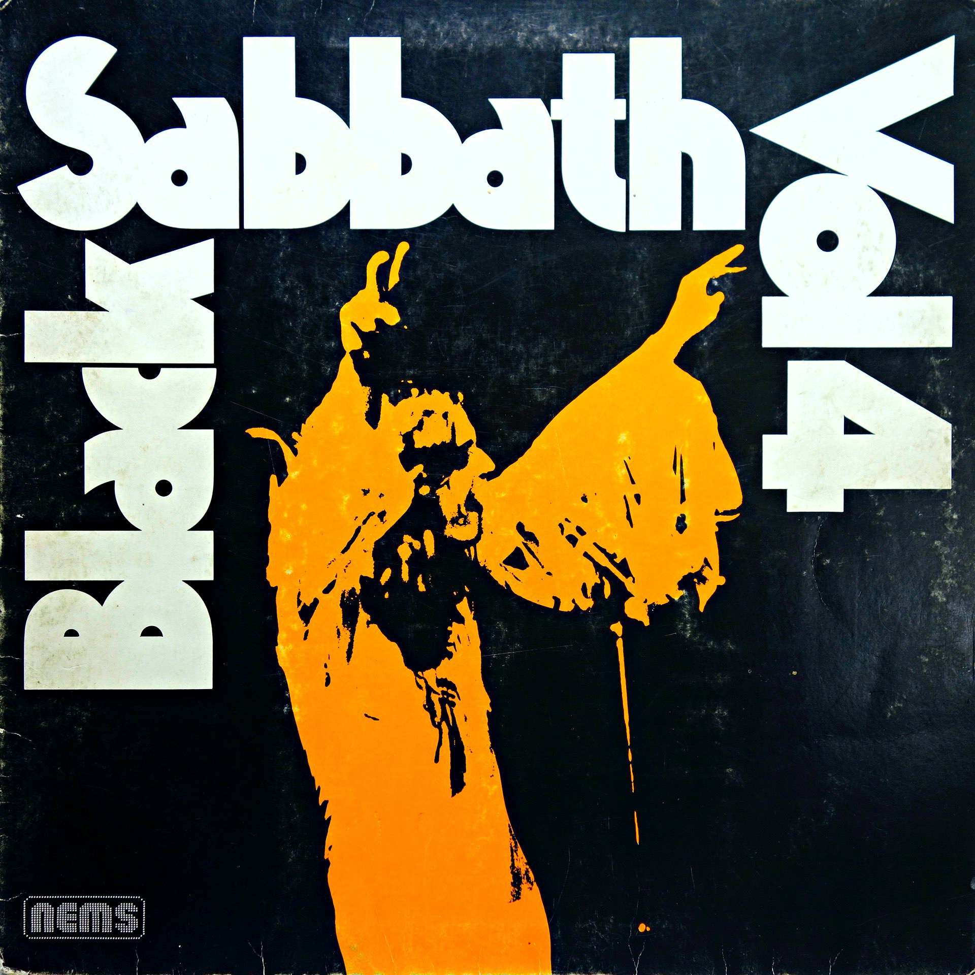 LP Black Sabbath ‎– Black Sabbath, Vol. 4
