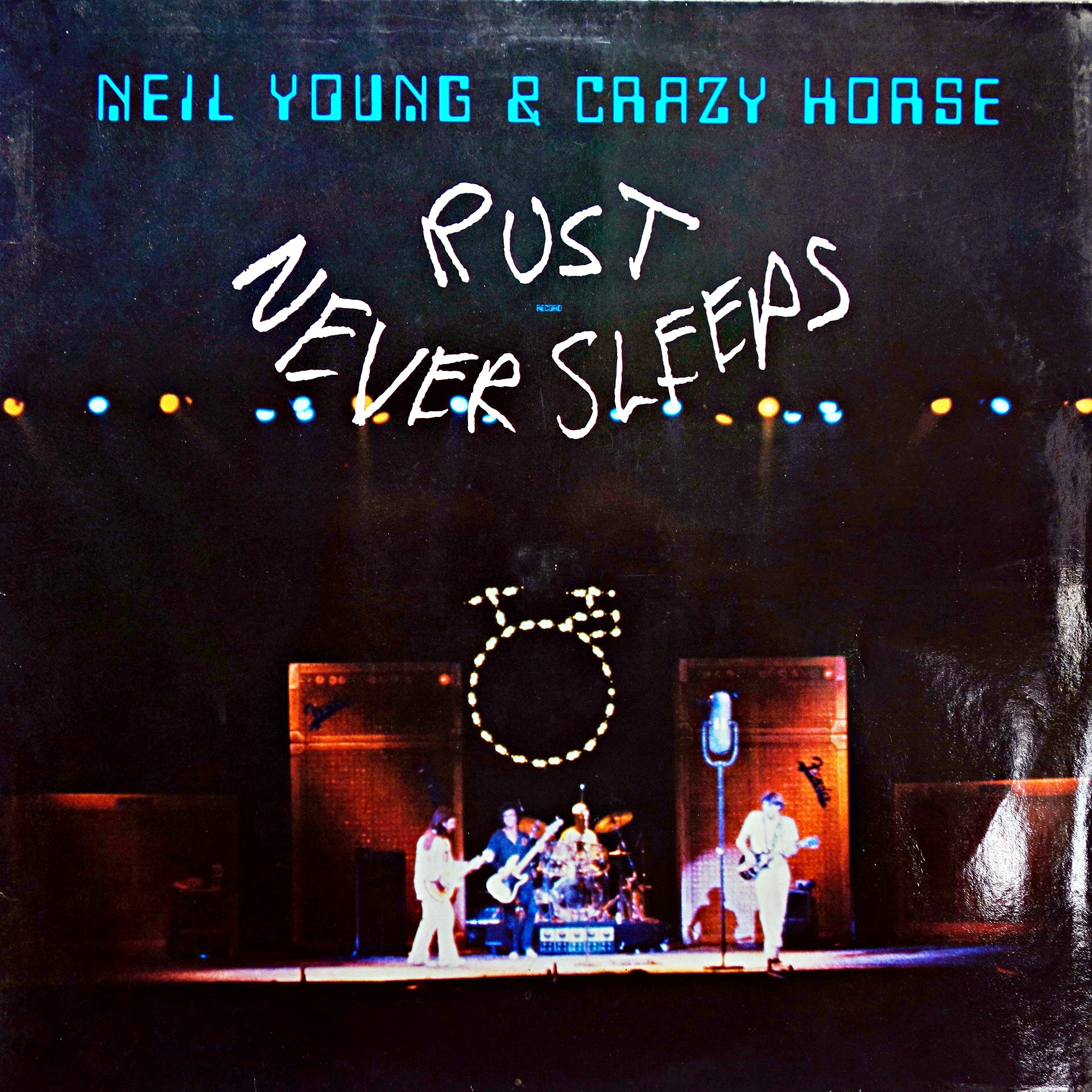 LP Neil Young & Crazy Horse ‎– Rust Never Sleeps