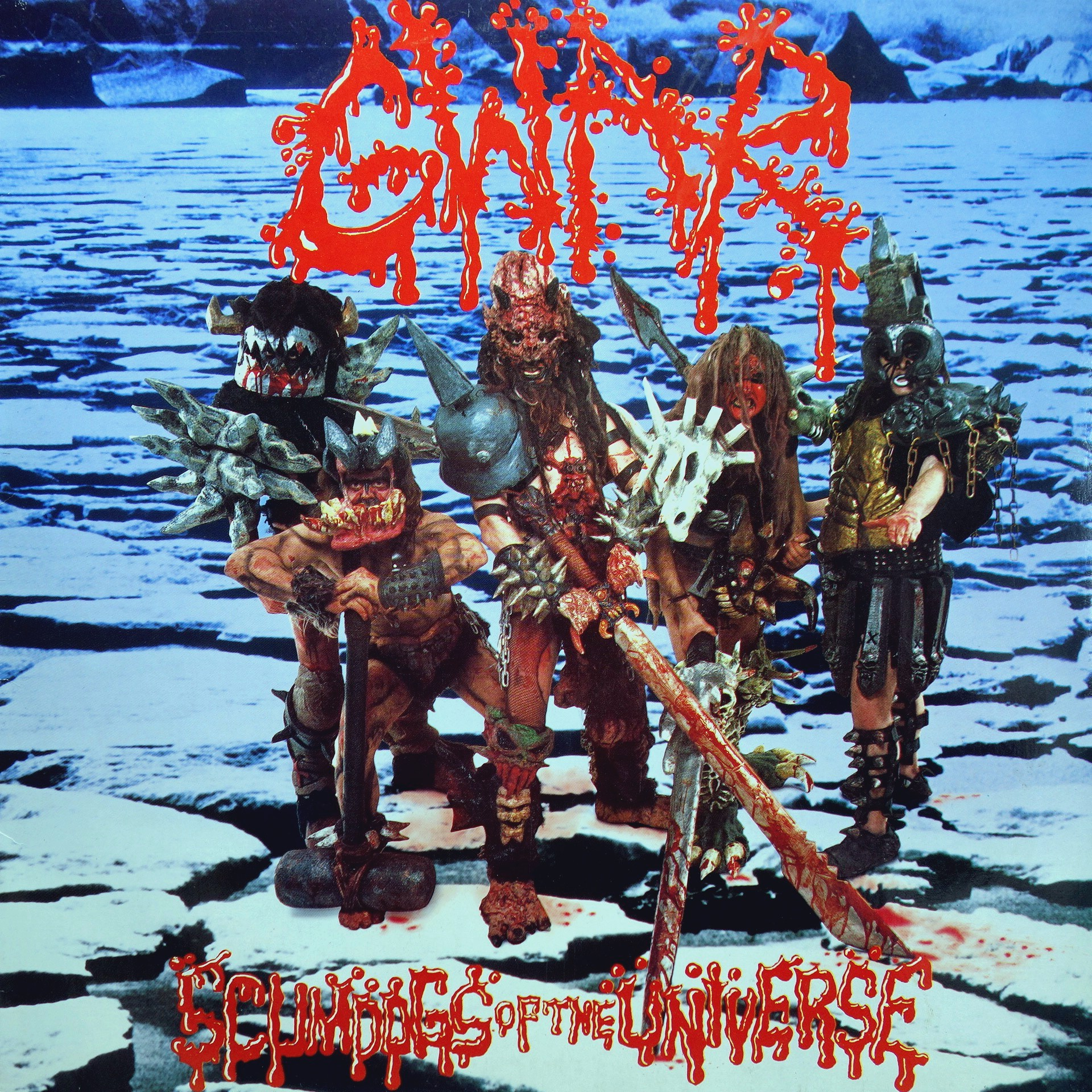 LP Gwar ‎– Scumdogs Of The Universe