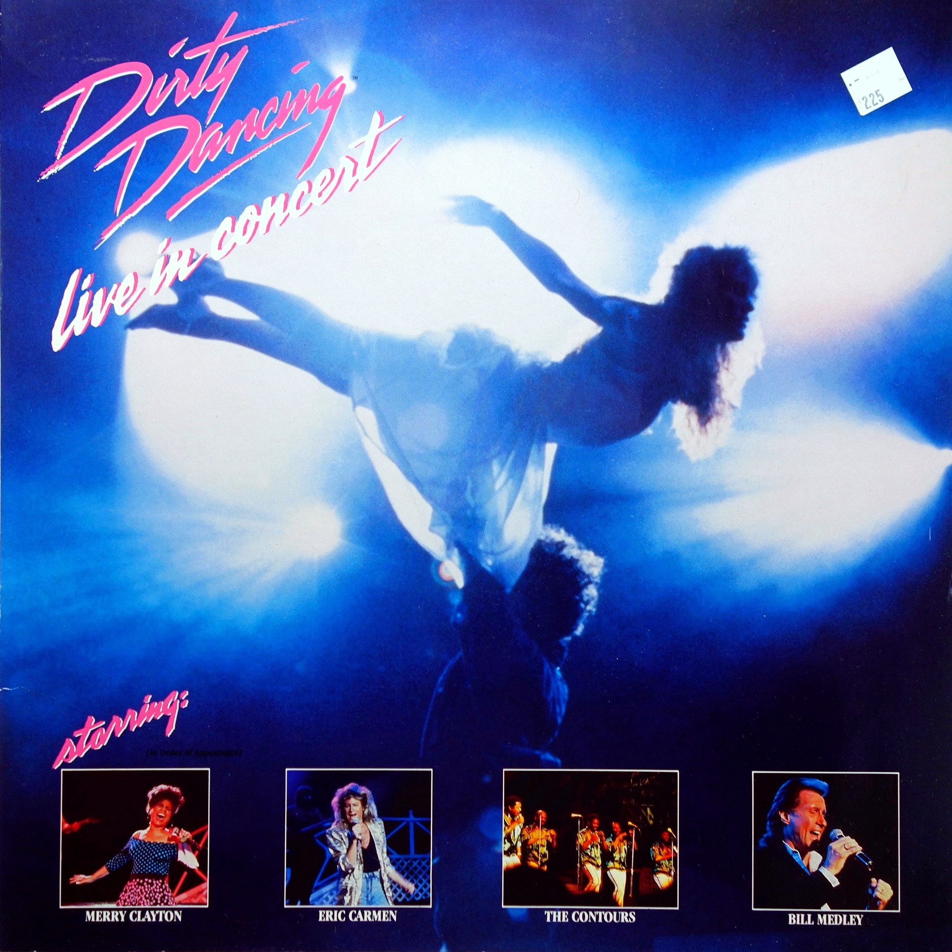 2xLP Various ‎– Dirty Dancing - Live In Concert