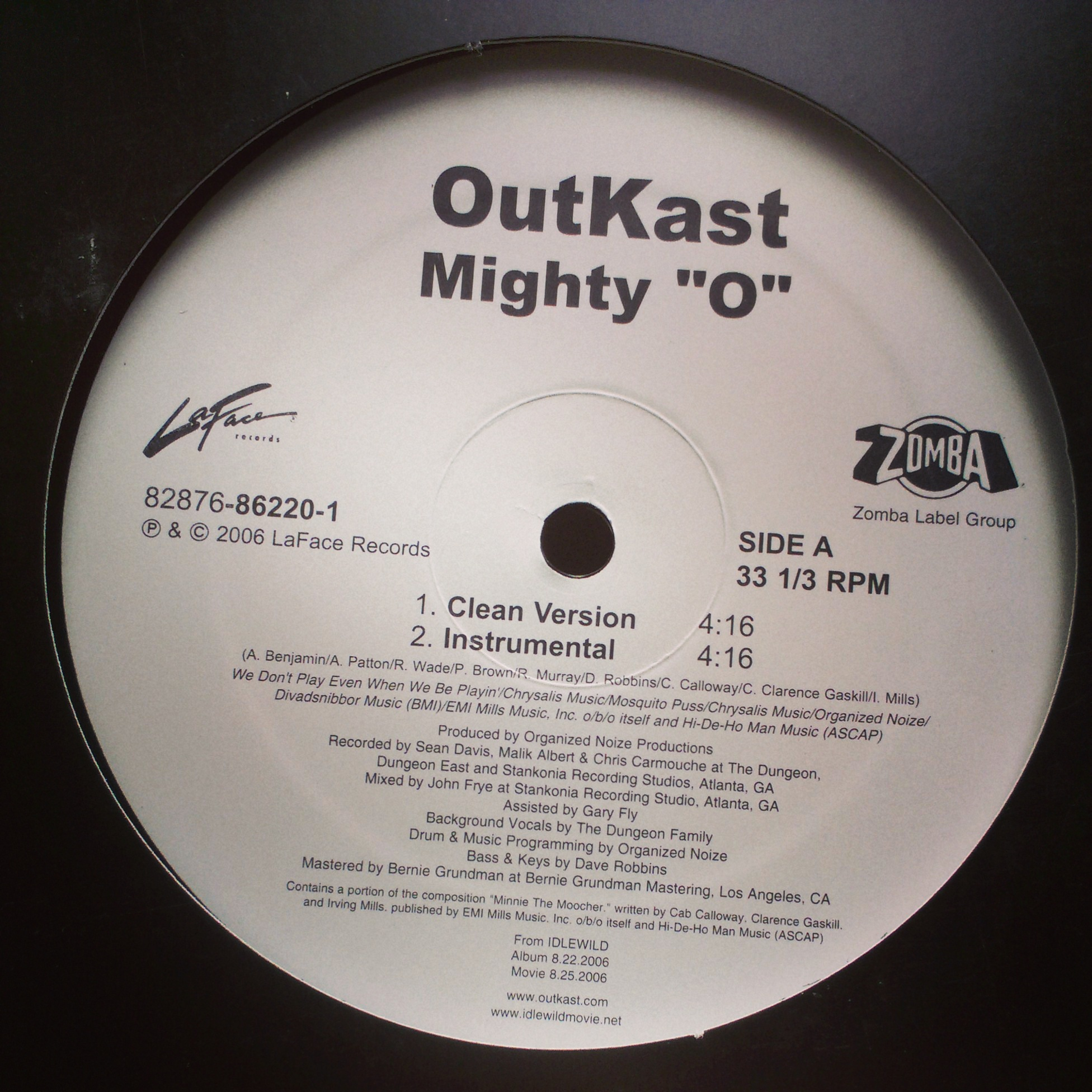 "12"" OutKast - Mighty ""O"""