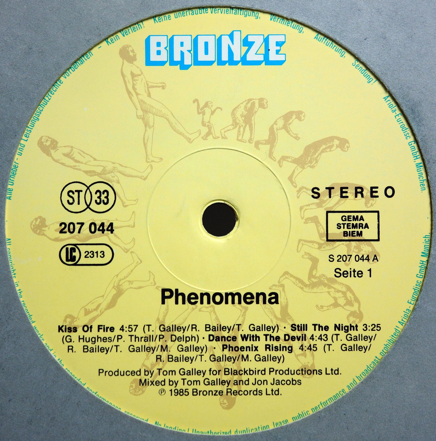 LP Phenomena ‎– Phenomena