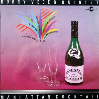 LP Dobrý Večer Quintet ‎– Manhattan Cocktail