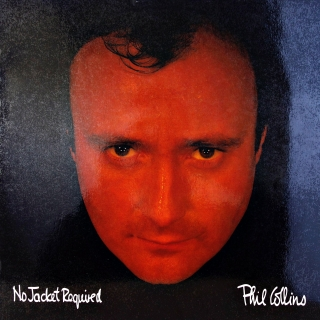 LP Phil Collins ‎– No Jacket Required