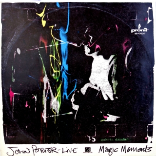 LP John Porter-Live ‎– Magic Moments