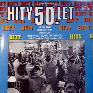 LP Various ‎– Hity 50. Let