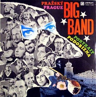 LP Pražský Big Band ‎– Portrait = Podobizna