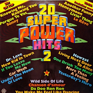 LP Unknown Artist ‎– 20 Super Power Hits 2