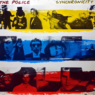 LP The Police ‎– Synchronicity