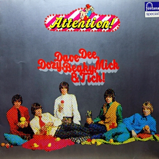 LP Dave Dee, Dozy, Beaky, Mick & Tich ‎– Attention!