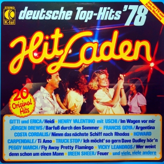 LP Various ‎– Hit Laden - Deutsche Top-Hits '78
