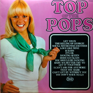 LP The Top Of The Poppers ‎– Top Of The Pops Volume 54