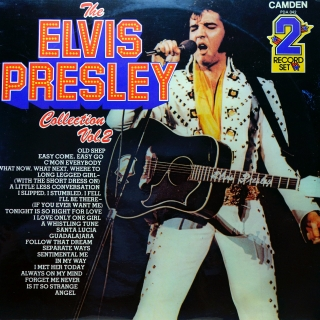 2xLP Elvis Presley ‎– The Elvis Presley Collection Vol.2