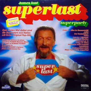 LP James Last ‎– Superlast