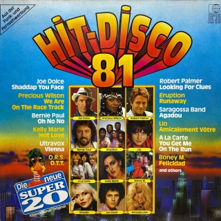 LP Various ‎– Super 20 - Hit Disco '81
